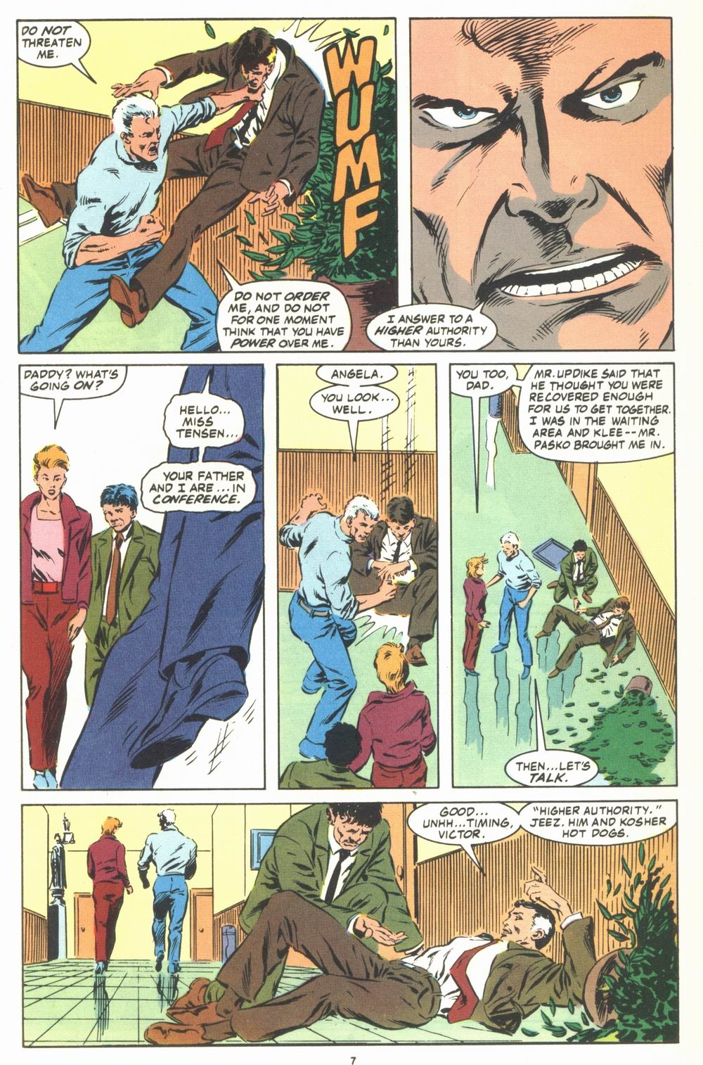 Read online Justice (1986) comic -  Issue #23 - 9