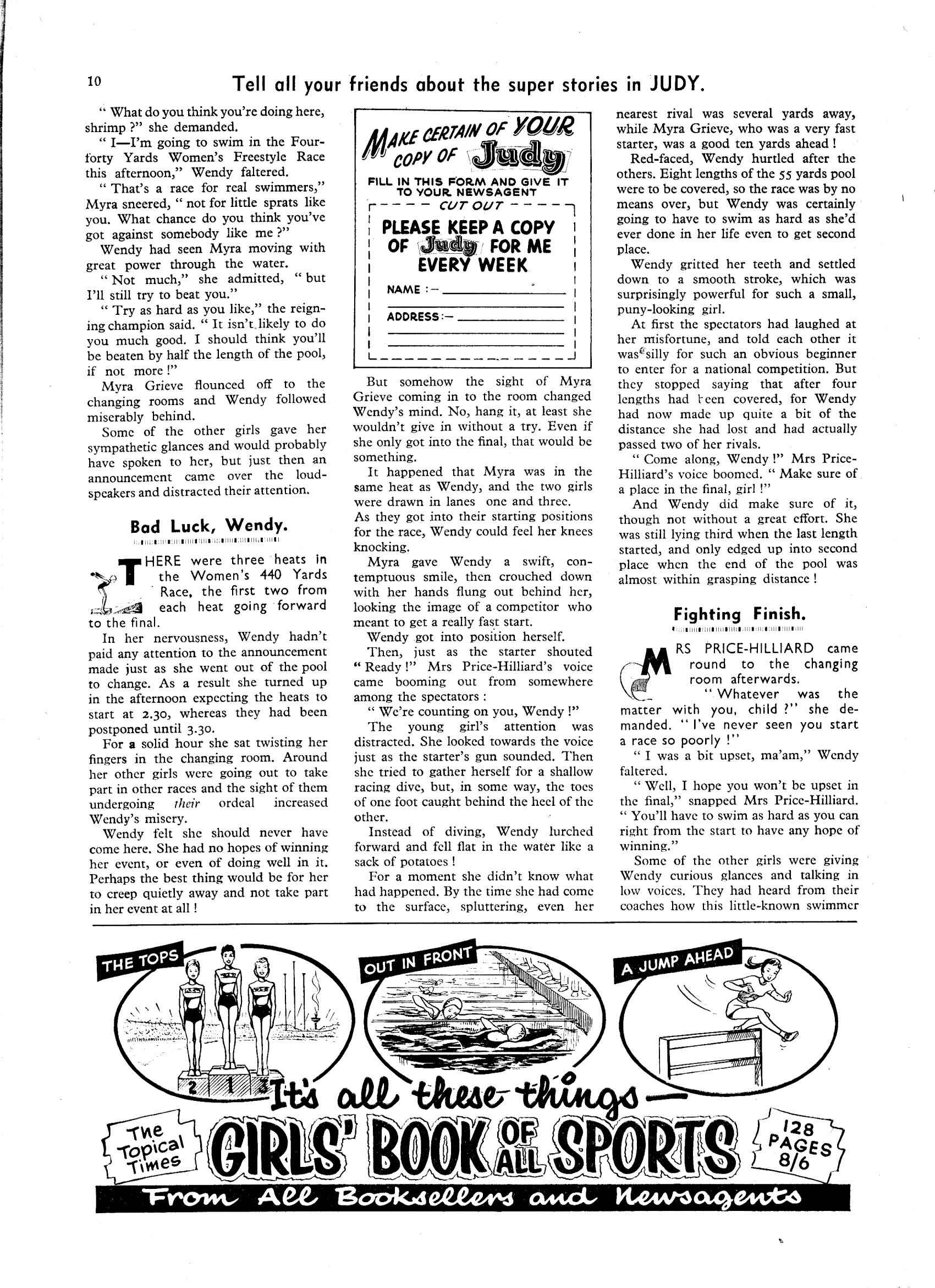 Read online Judy comic -  Issue #42 - 10