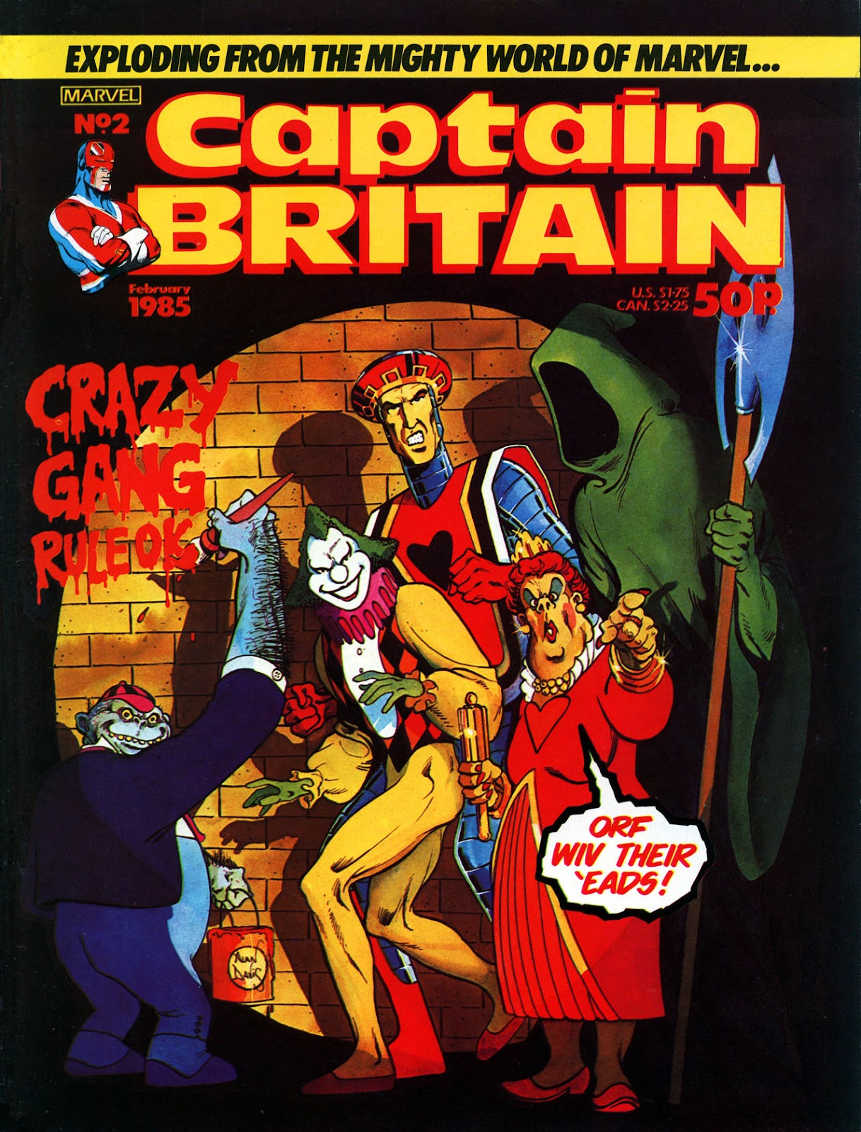 Captain Britain (1985) 2 Page 1