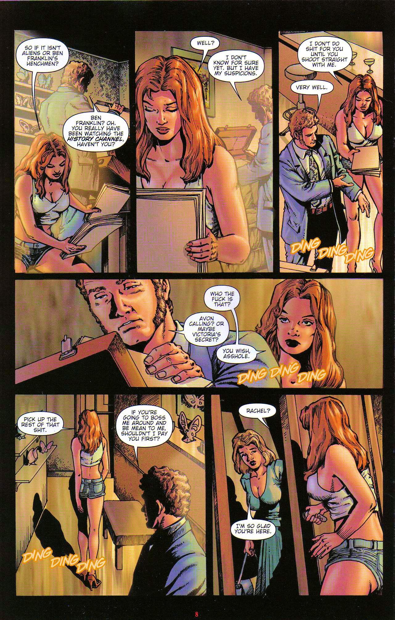 Read online Dominatrix comic -  Issue #5 - 10