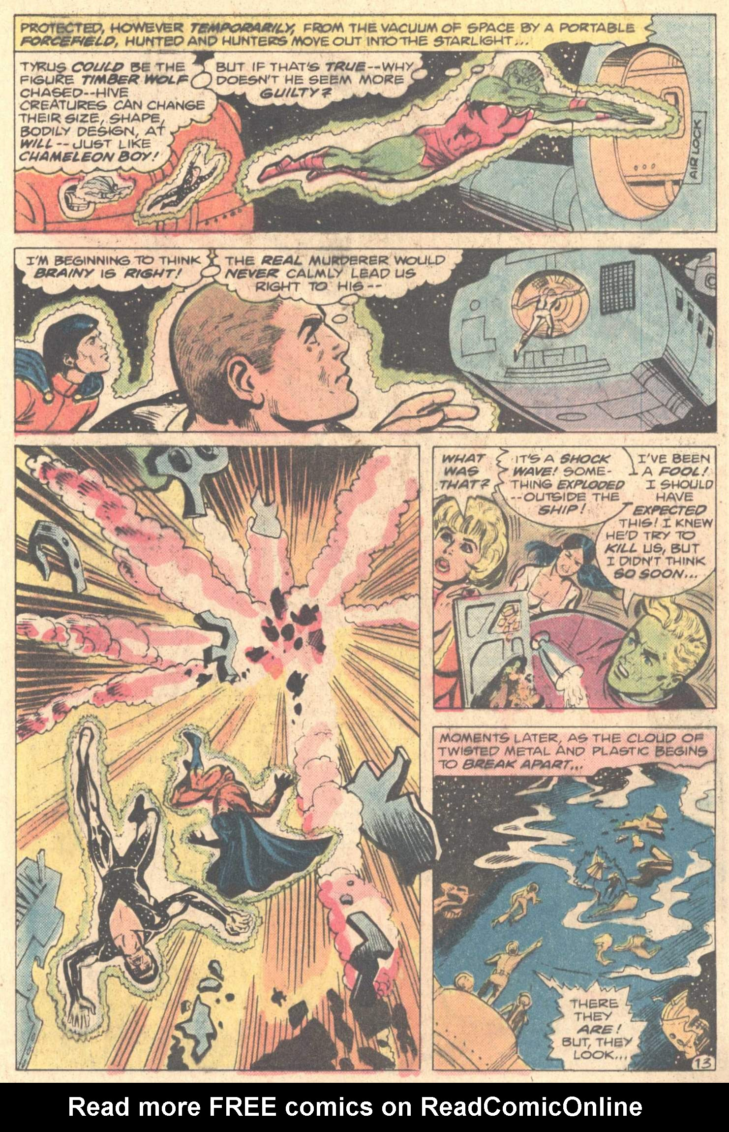 Legion of Super-Heroes (1980) 261 Page 23
