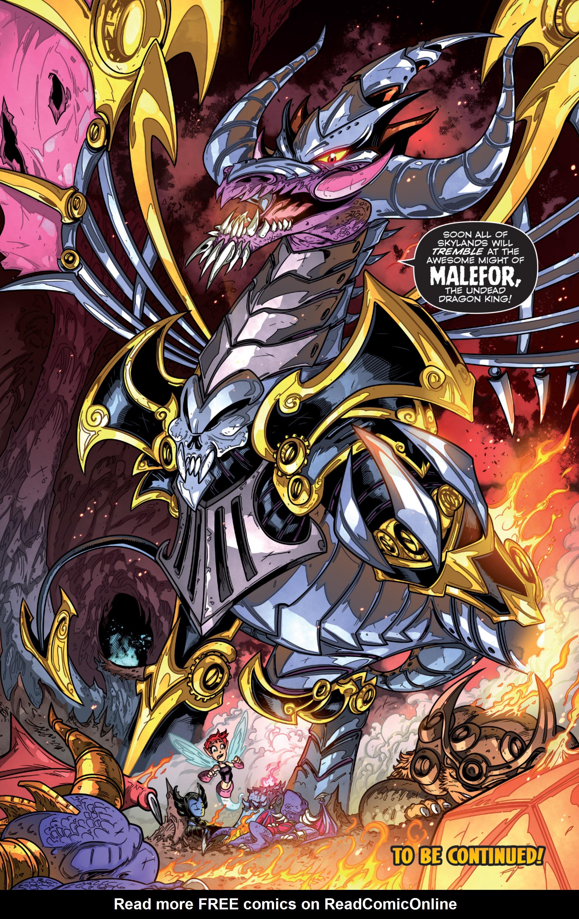 Read online Skylanders comic -  Issue #7 - 18