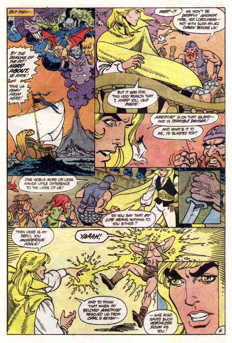 Read online Amethyst (1985) comic -  Issue #1 - 7