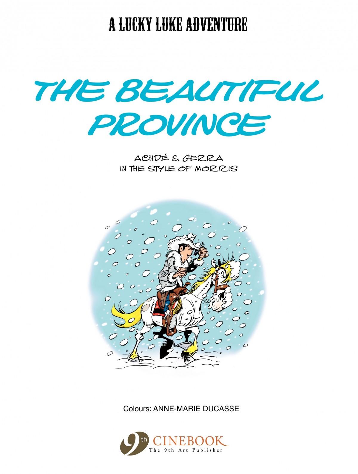 Read online A Lucky Luke Adventure comic -  Issue #52 - 3