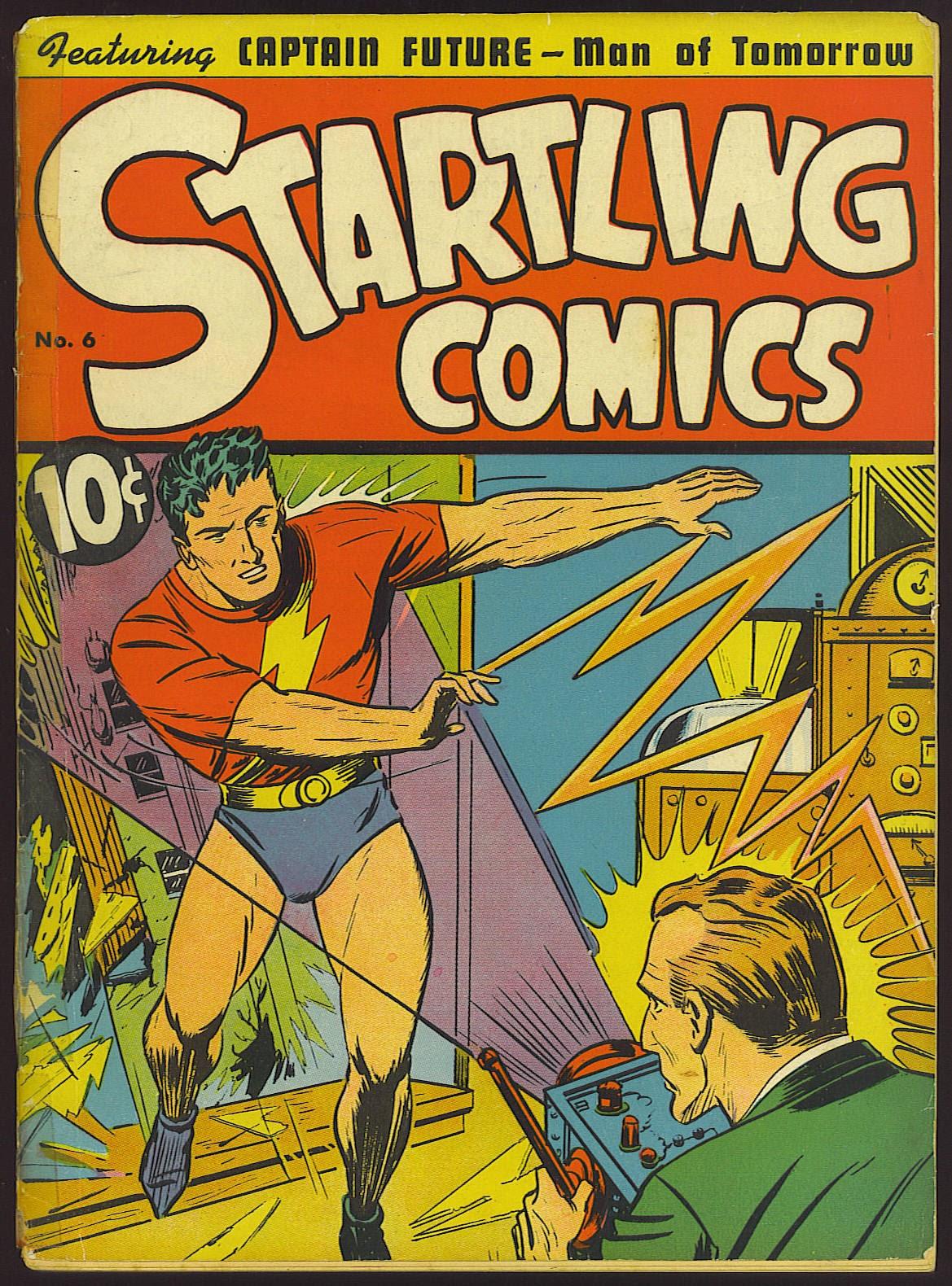 Startling Comics 6 Page 1