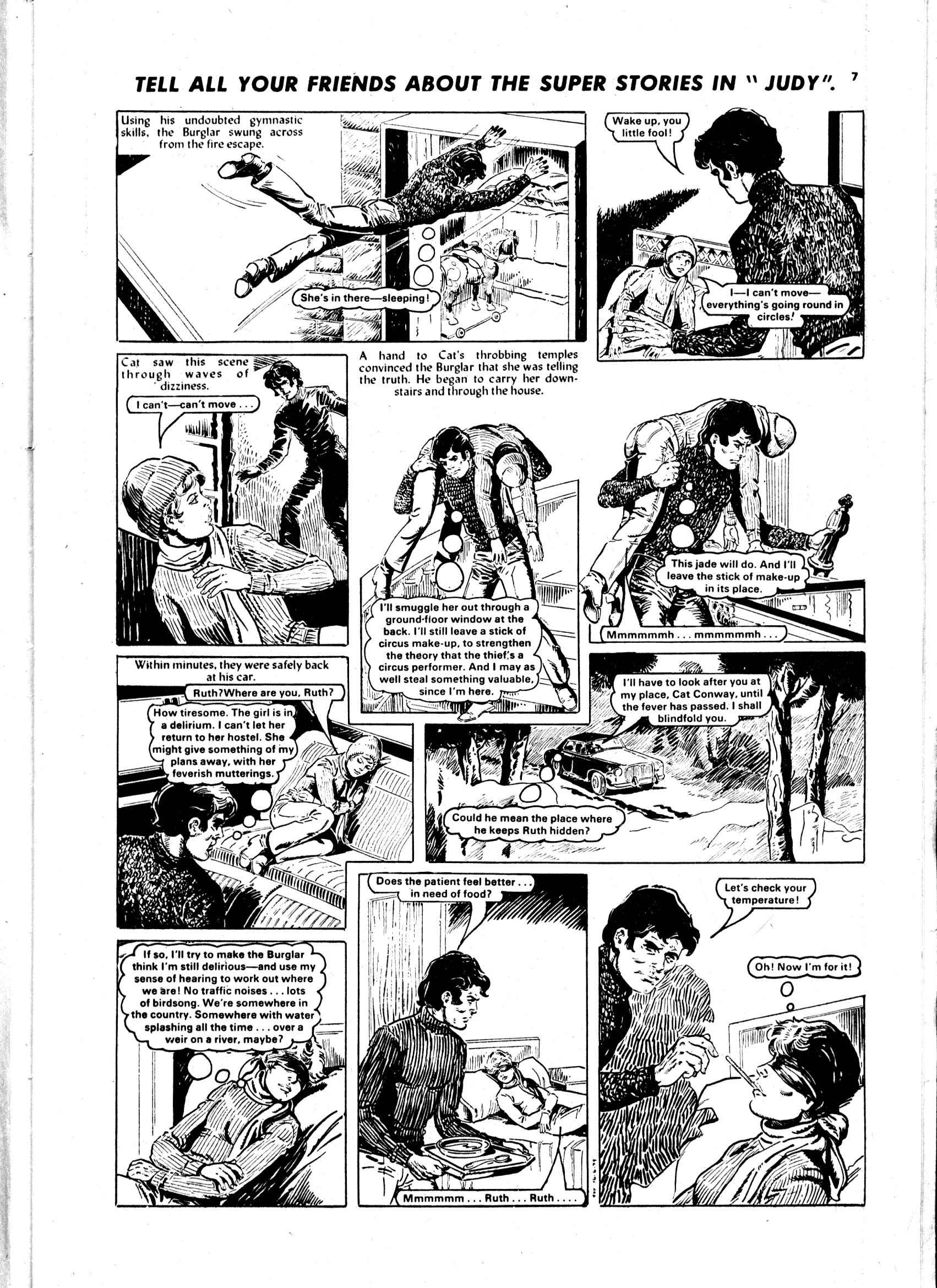Read online Judy comic -  Issue #5 - 7
