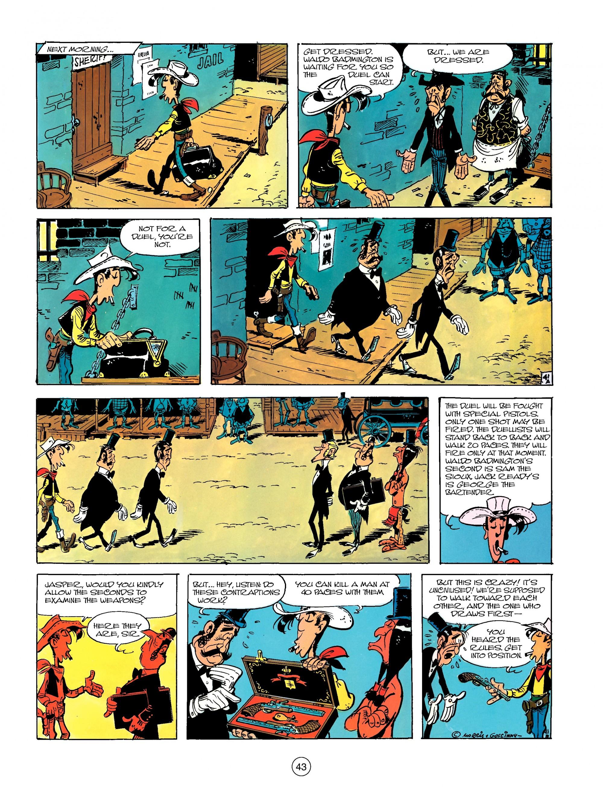 Read online A Lucky Luke Adventure comic -  Issue #13 - 43