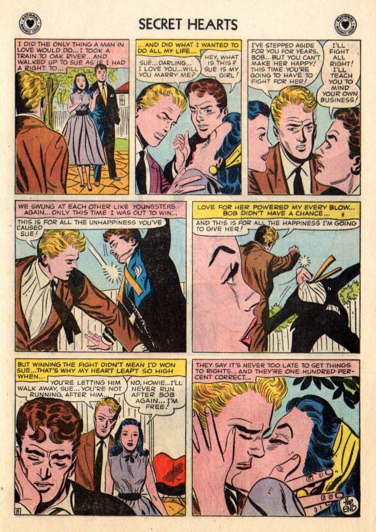 Read online Secret Hearts comic -  Issue #48 - 17