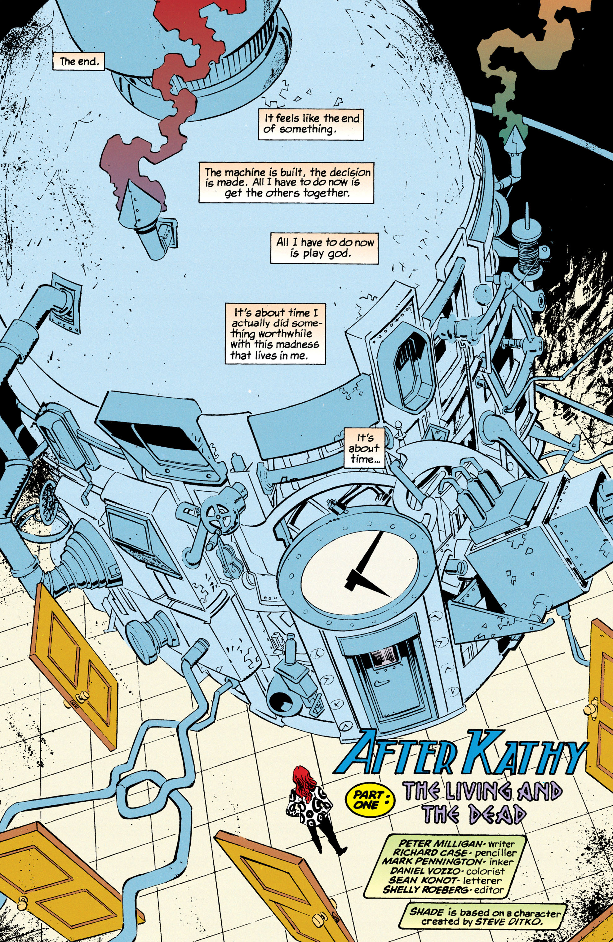 Read online Shade, the Changing Man comic -  Issue #68 - 3