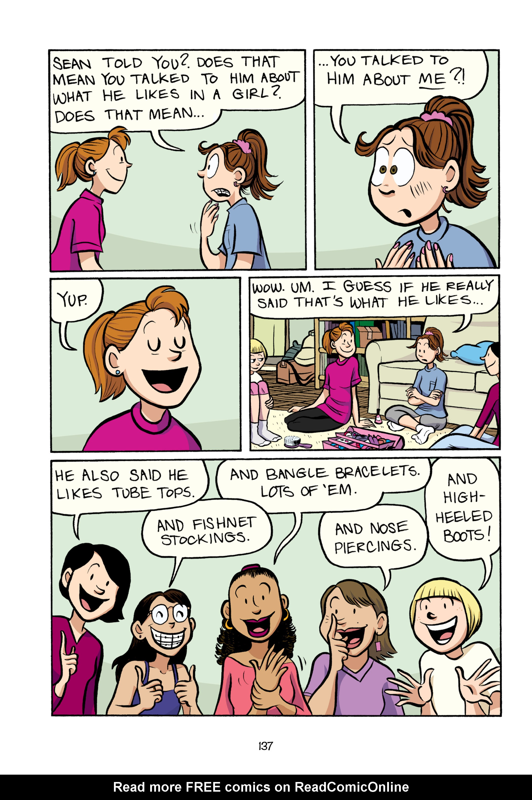 Read online Smile comic -  Issue # TPB - 143
