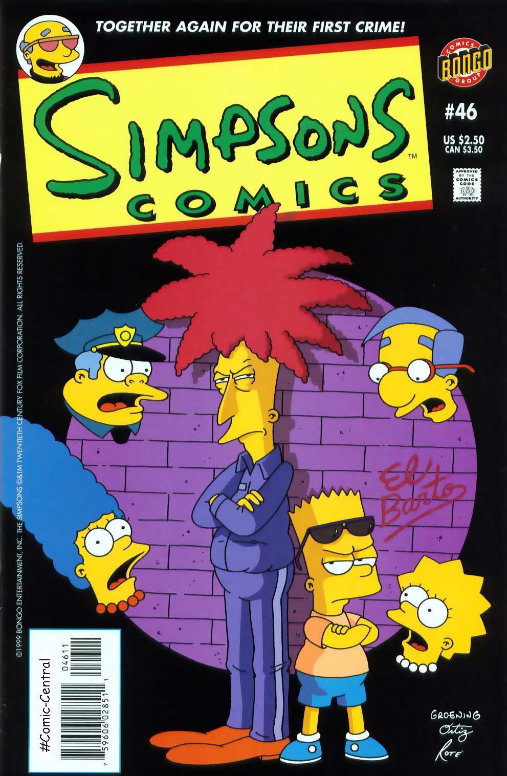 Read online Simpsons Comics comic -  Issue #46 - 1