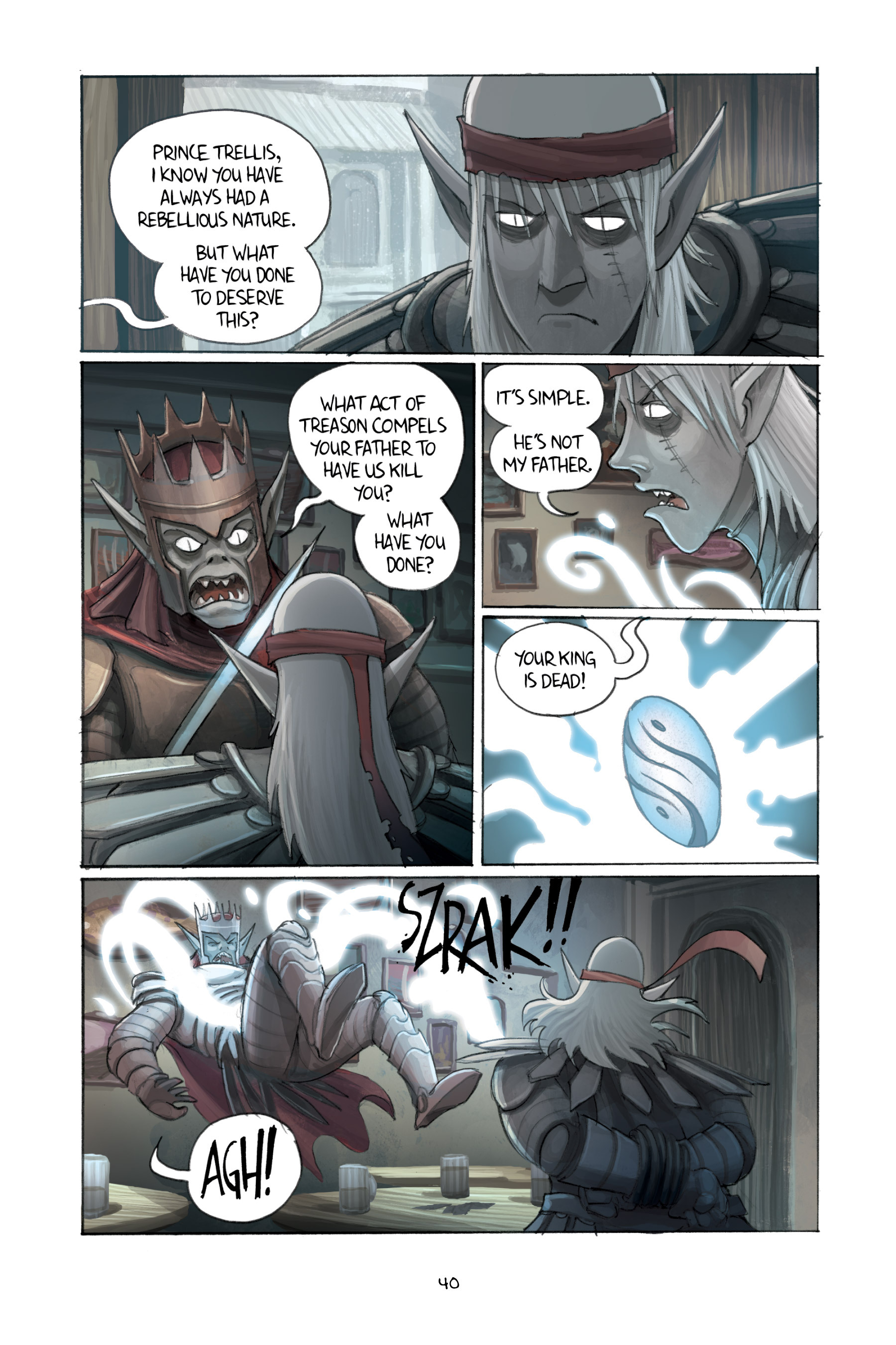 Read online Amulet comic -  Issue #3 - 39