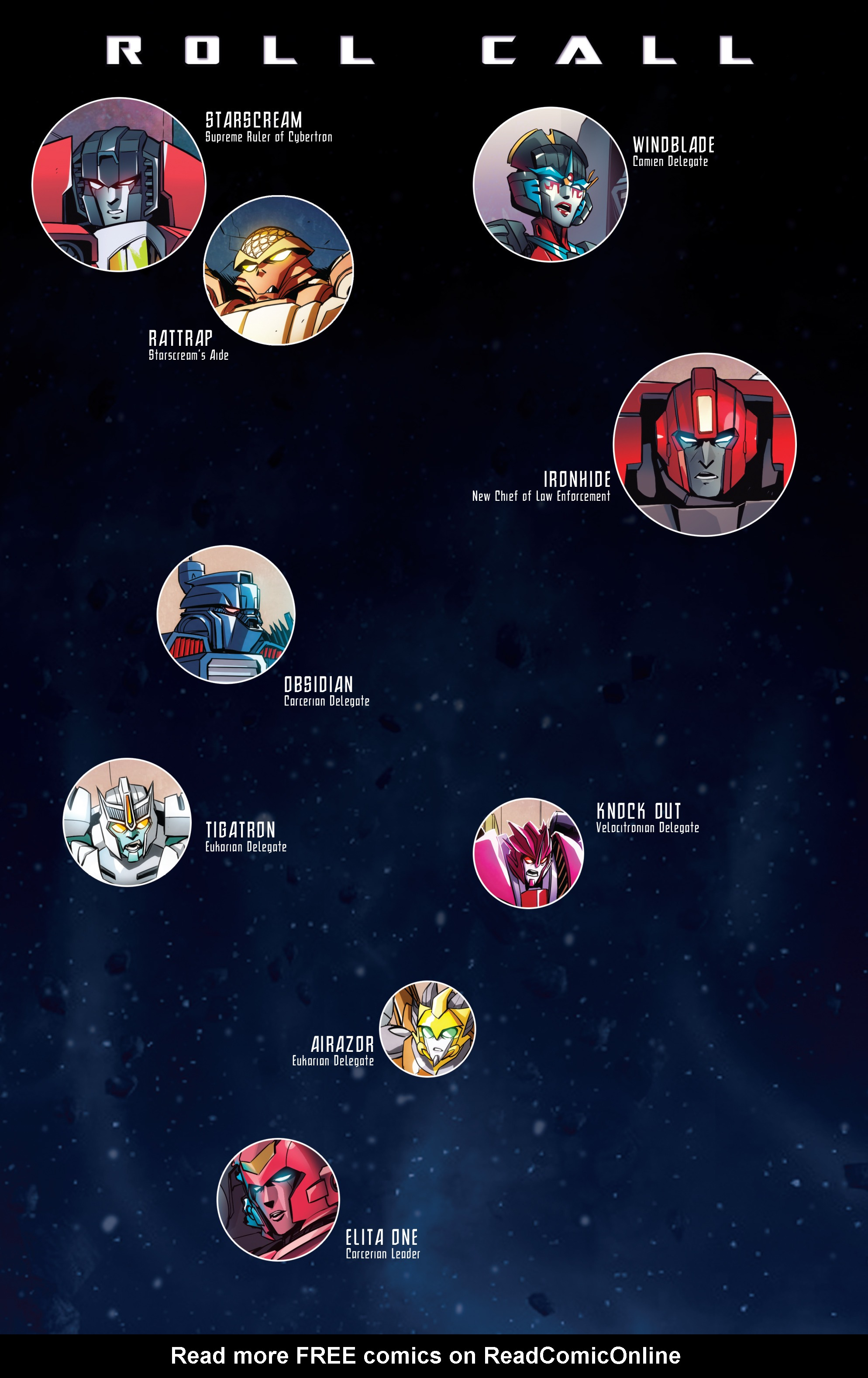 Read online Transformers: Till All Are One comic -  Issue #5 - 4