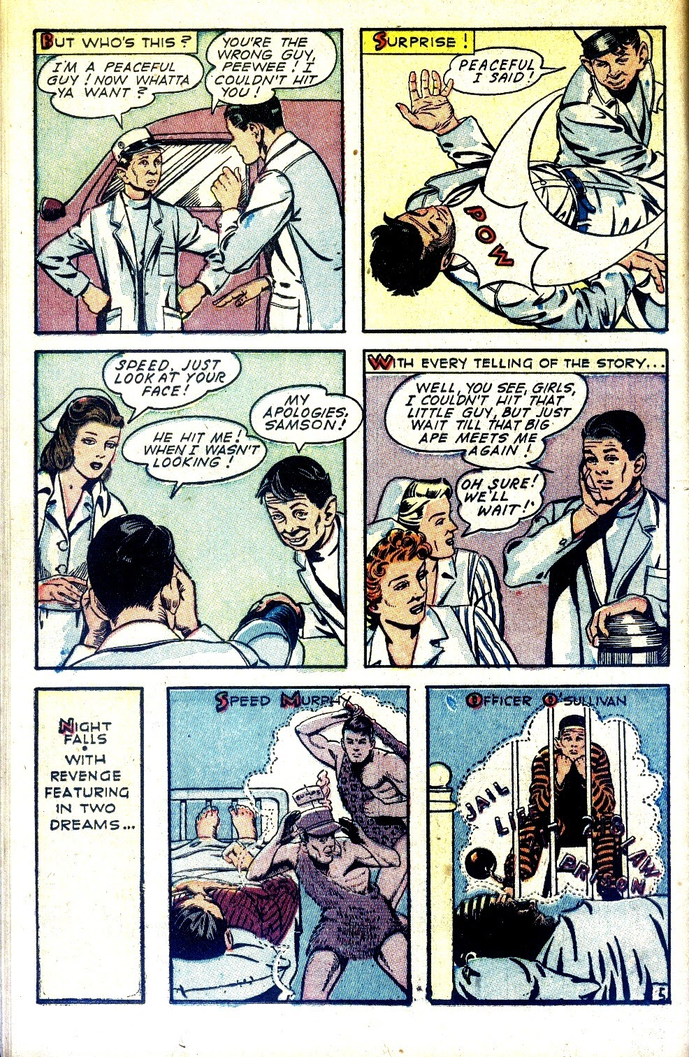 Read online Nellie The Nurse (1945) comic -  Issue #2 - 22