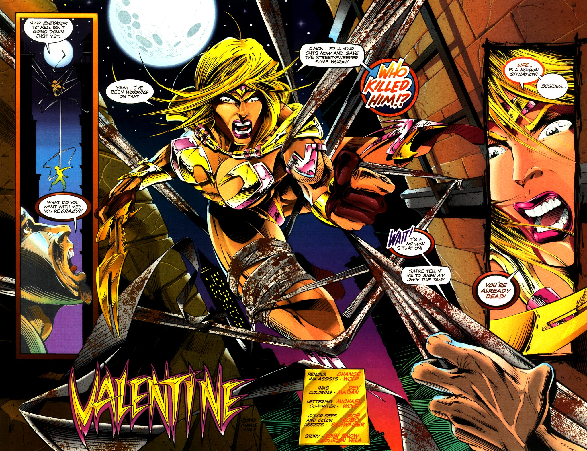 Read online ShadowHawk comic -  Issue #8 - 25