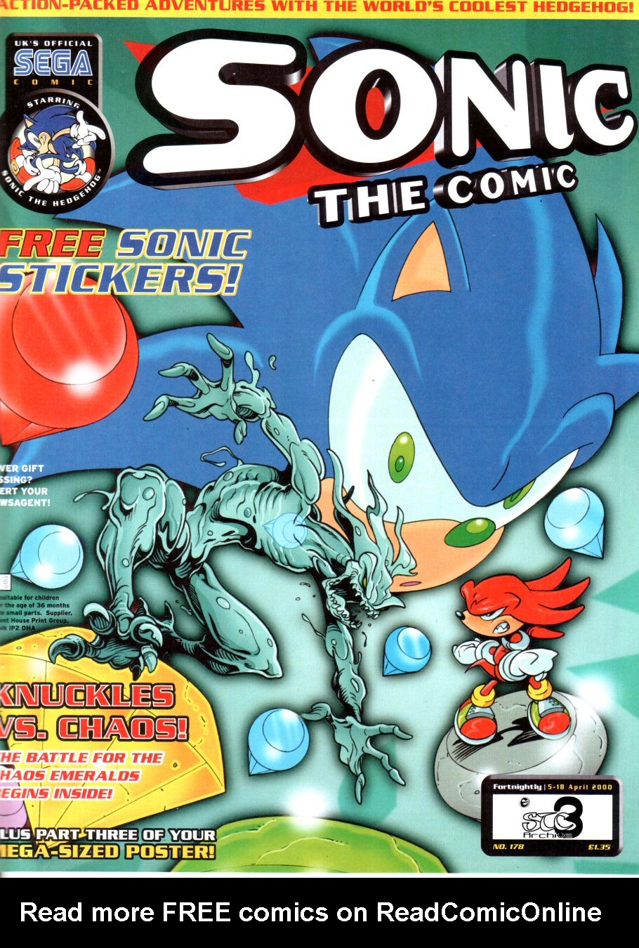 Read online Sonic the Comic comic -  Issue #178 - 1