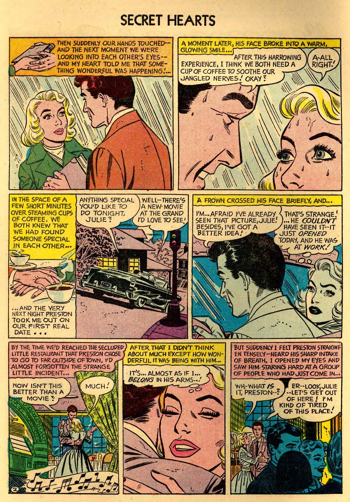 Read online Secret Hearts comic -  Issue #35 - 4