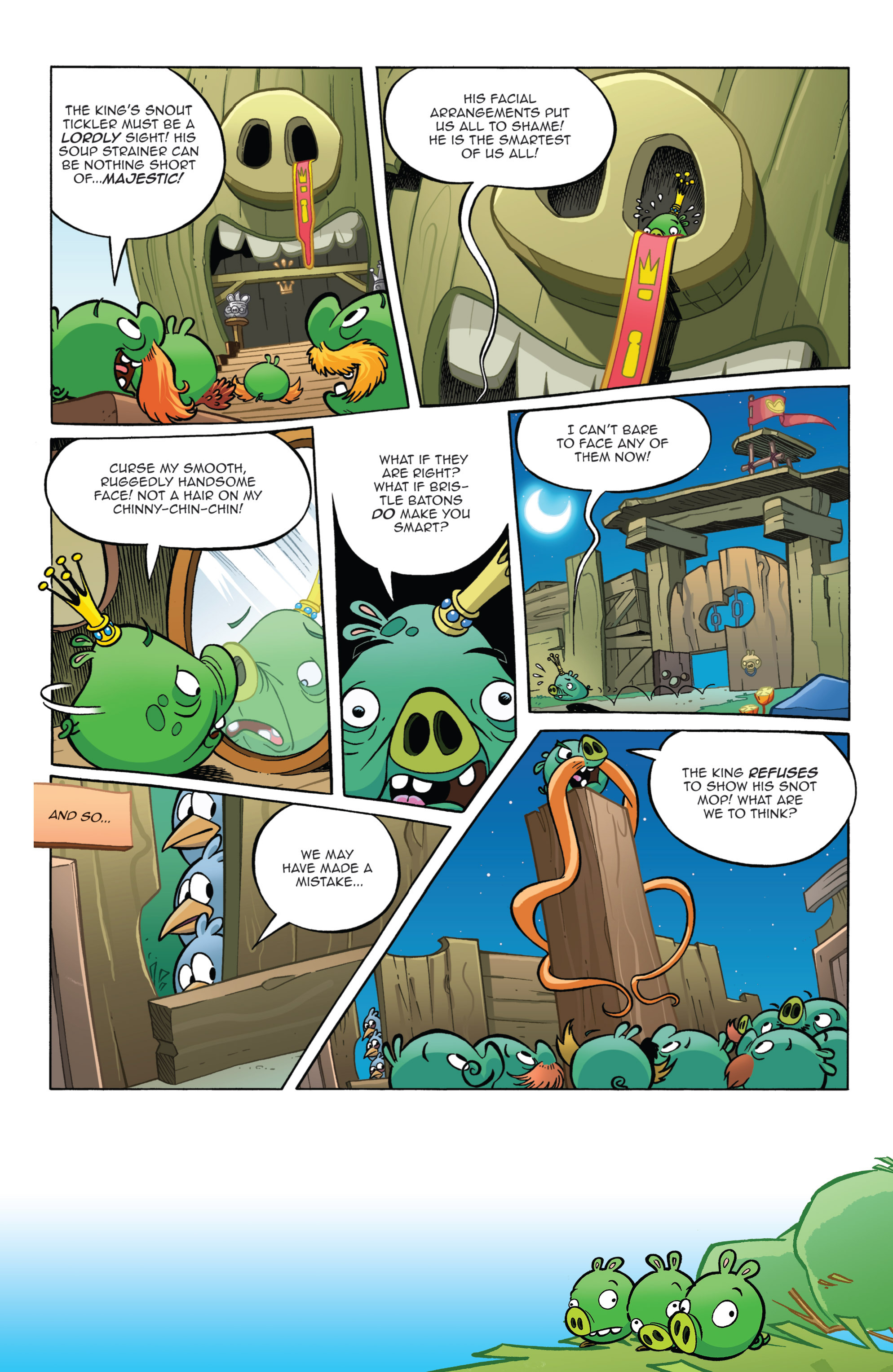 Read online Angry Birds Comics (2014) comic -  Issue #11 - 11