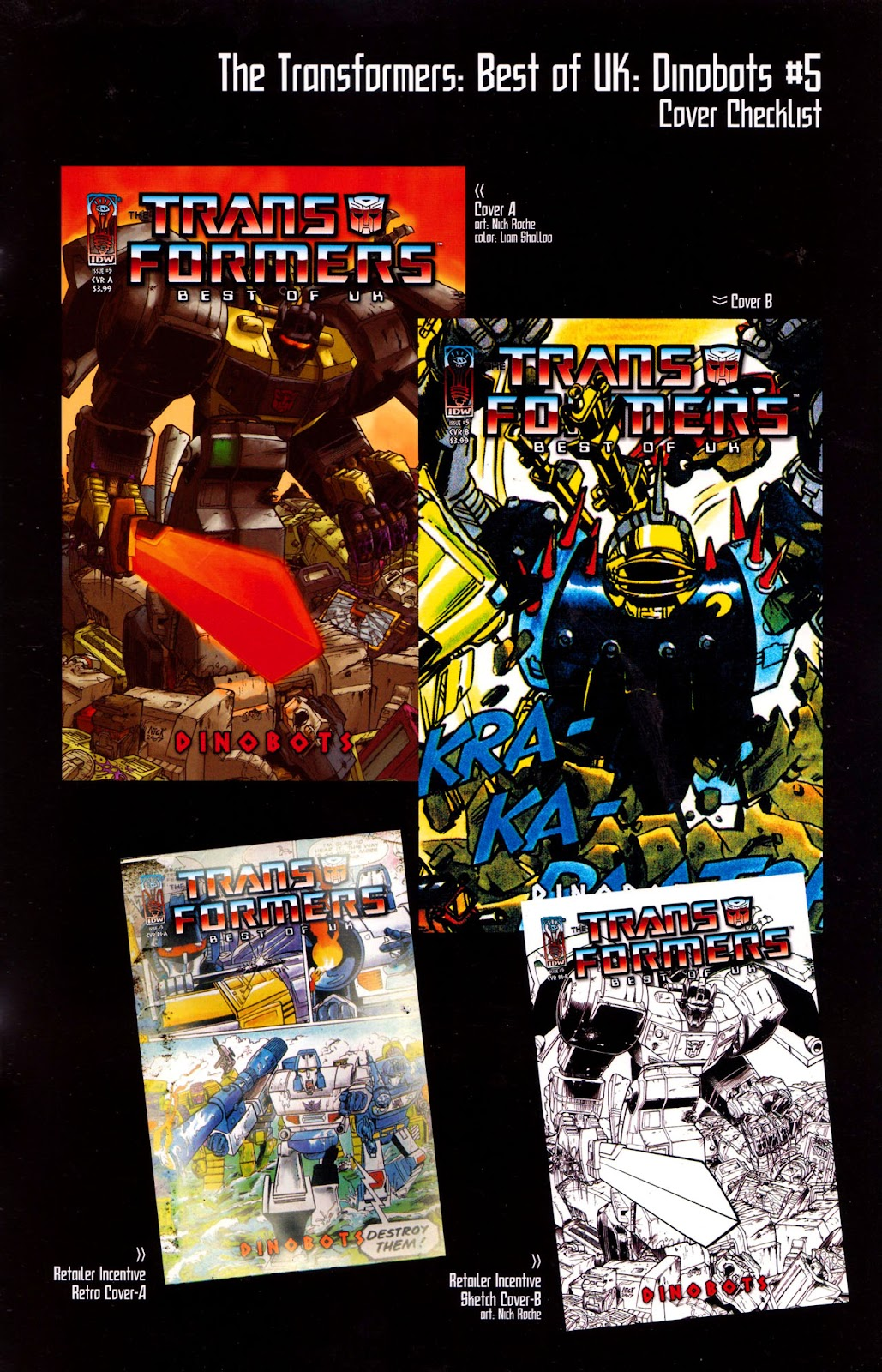 Read online The Transformers: Best of UK: Dinobots comic -  Issue #5 - 35