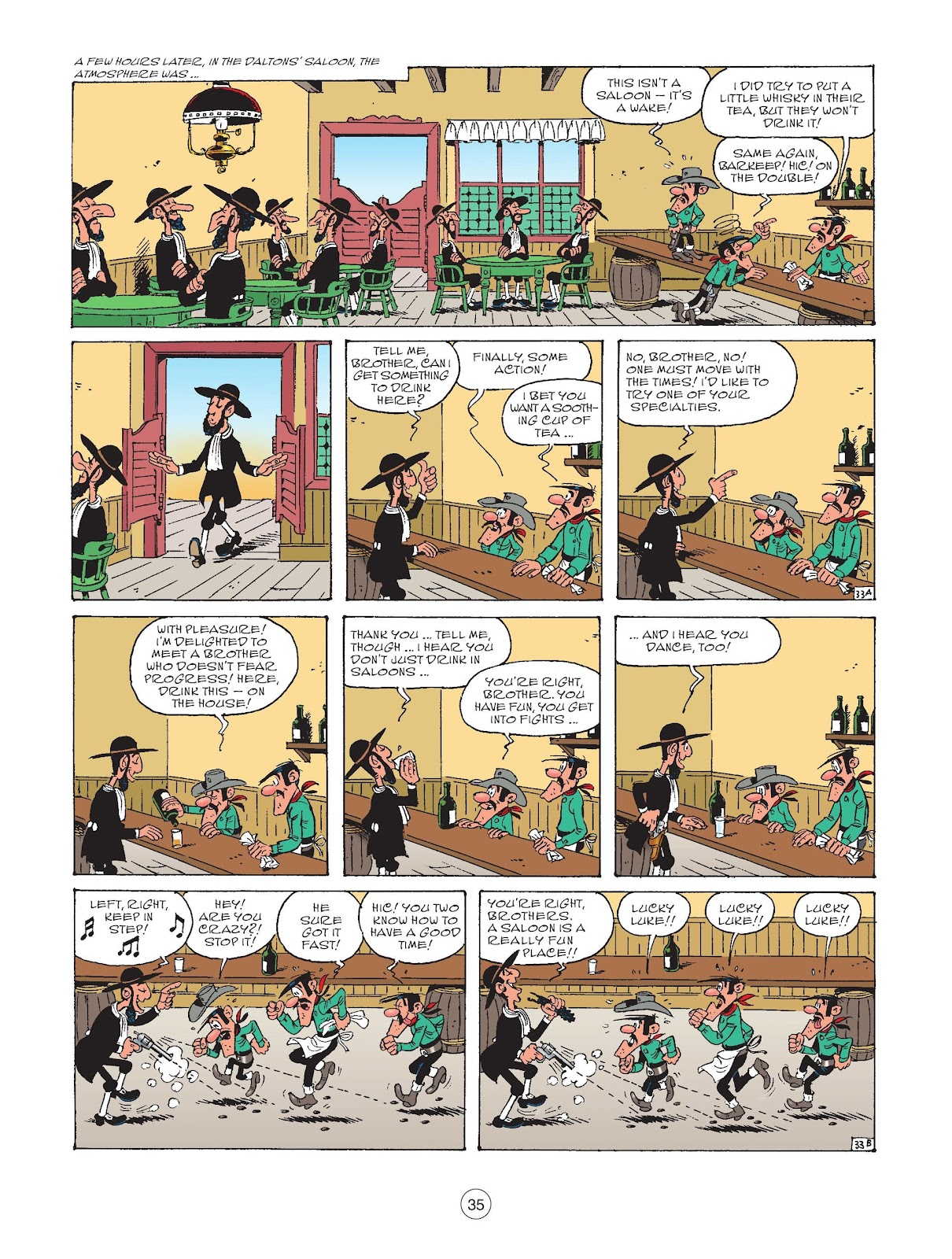 A Lucky Luke Adventure issue 73 - Page 37