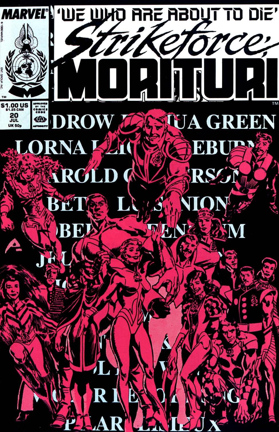 Strikeforce: Morituri 20 Page 1