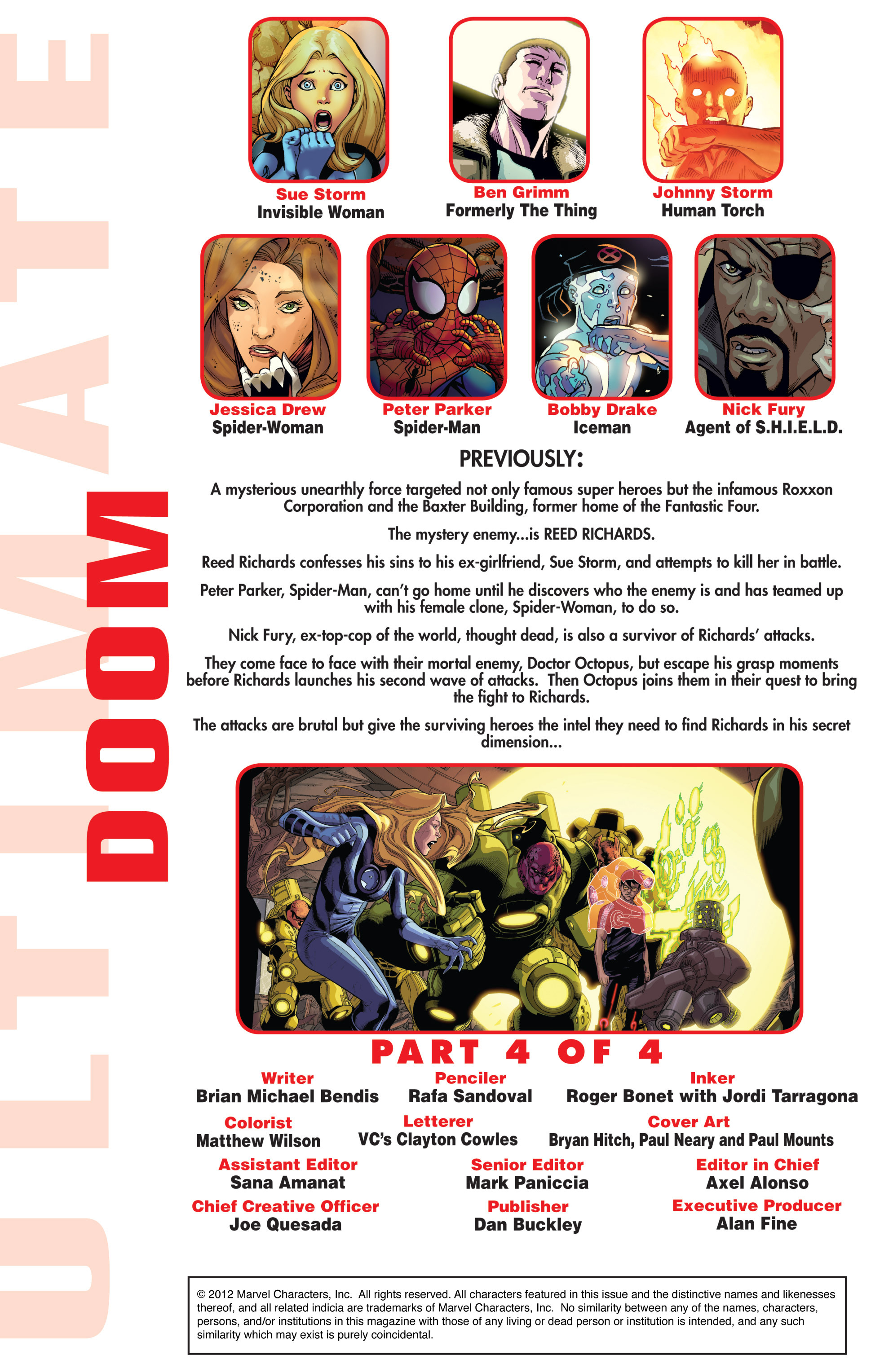 Read online Ultimate Comics Doomsday comic -  Issue # Full - 227
