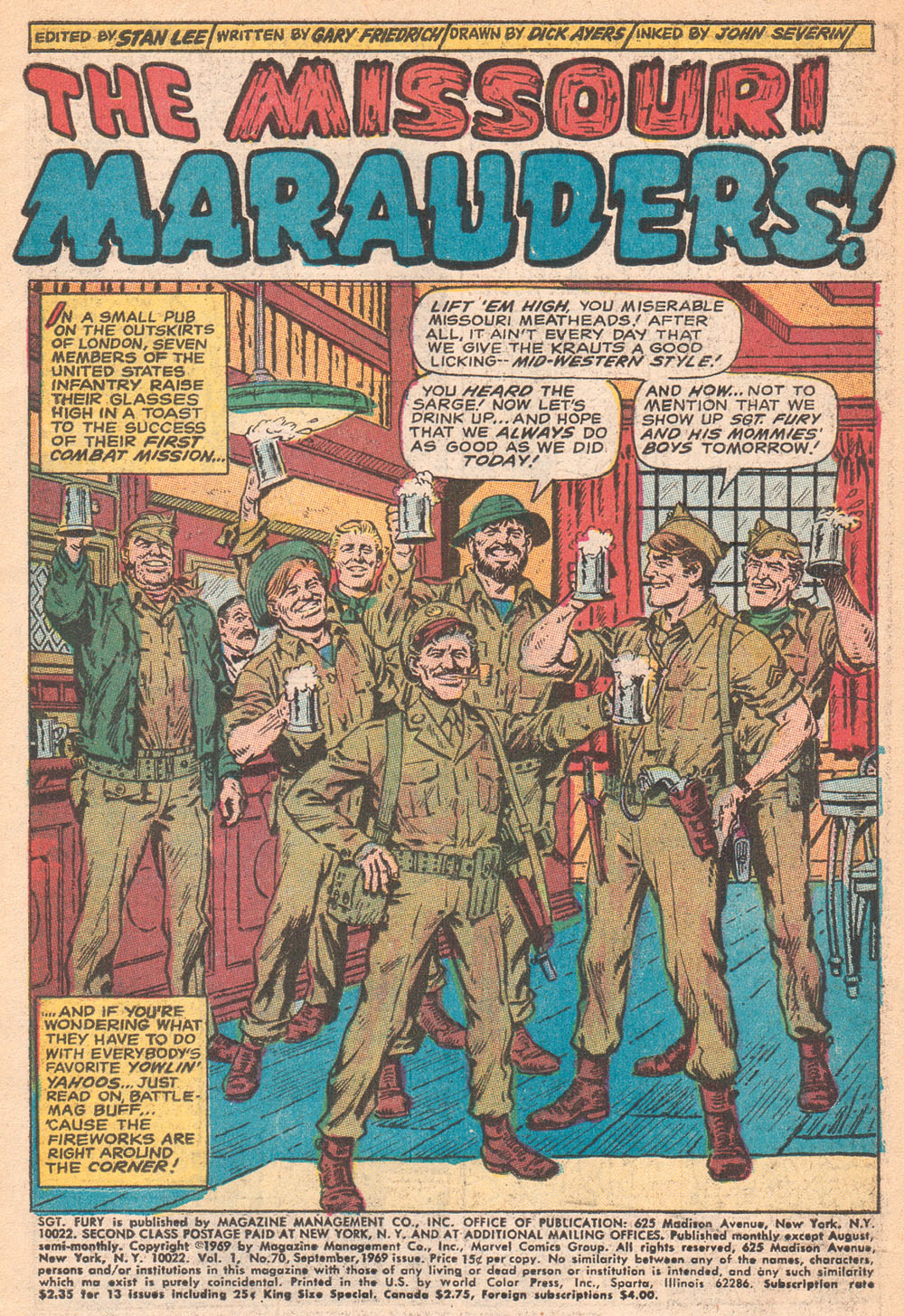 Read online Sgt. Fury comic -  Issue #70 - 3