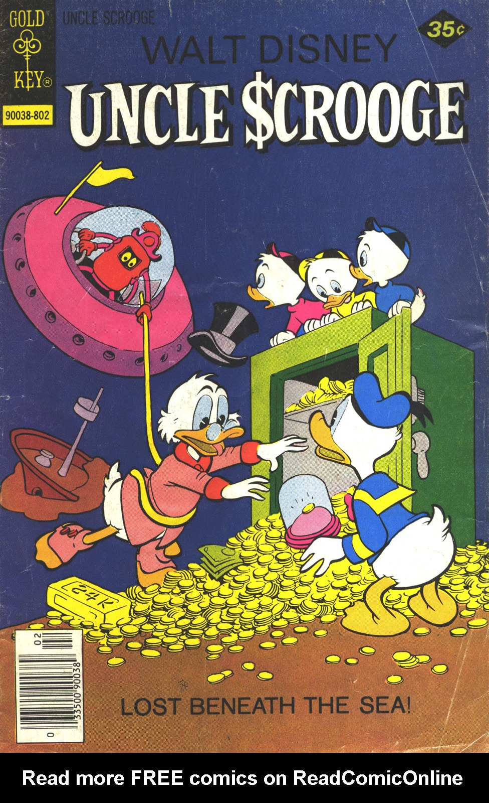 Read online Uncle Scrooge (1953) comic -  Issue #149 - 1