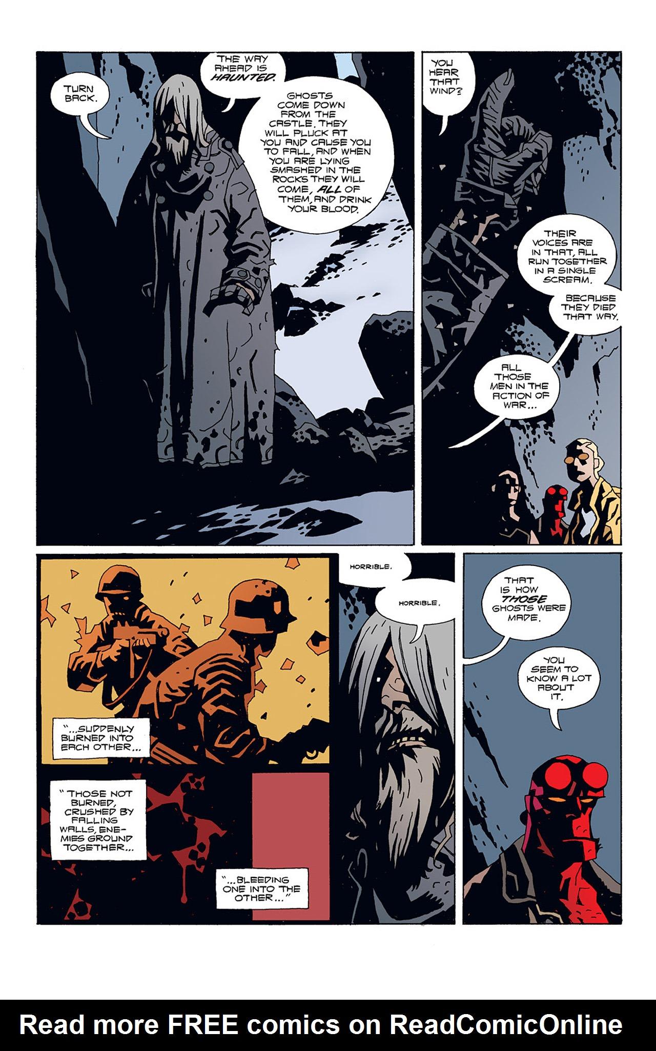 Read online Hellboy: Conqueror Worm comic -  Issue #1 - 20
