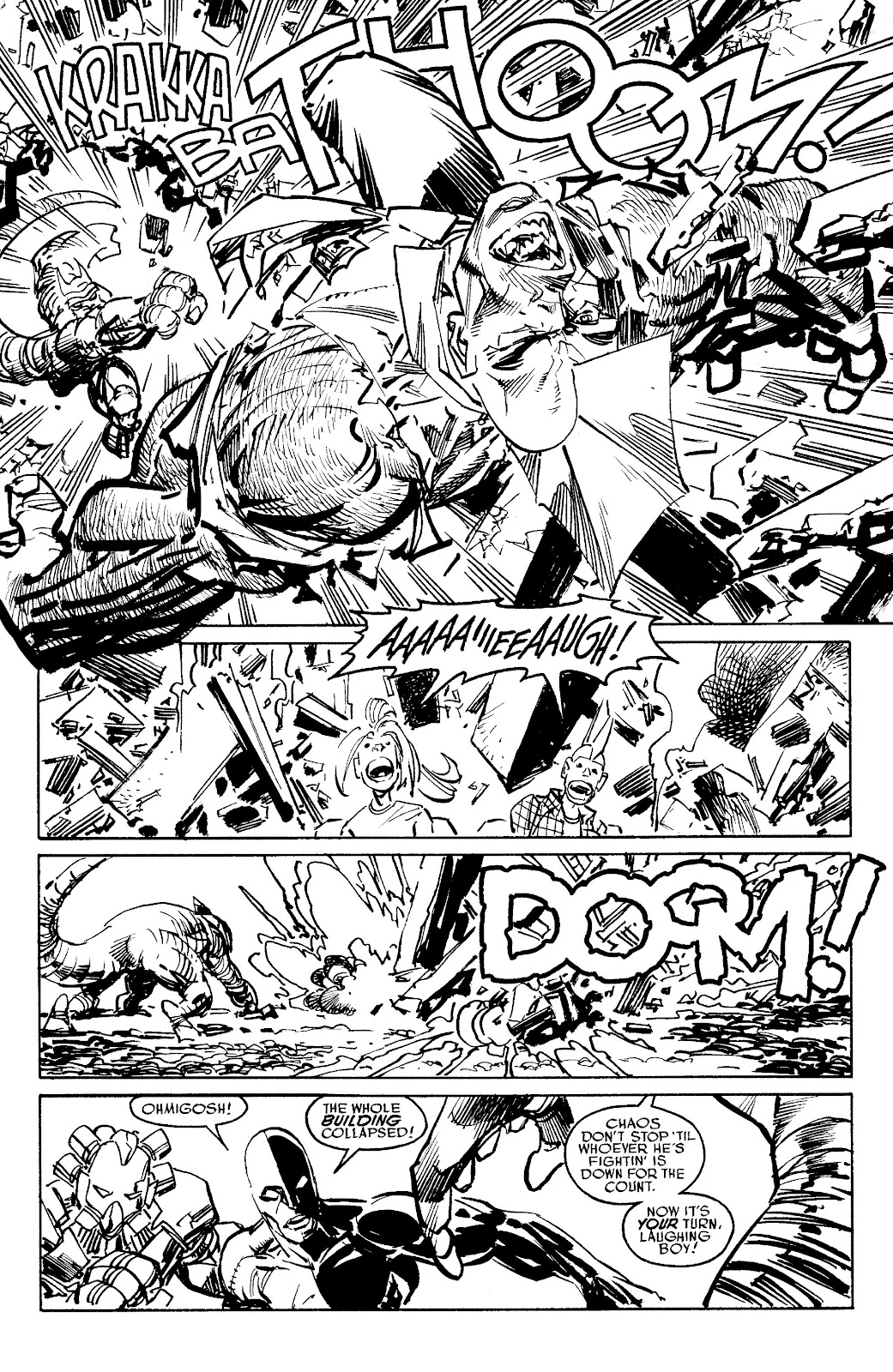 Read online Savage Dragon Archives comic -  Issue # TPB 6 (Part 5) - 49
