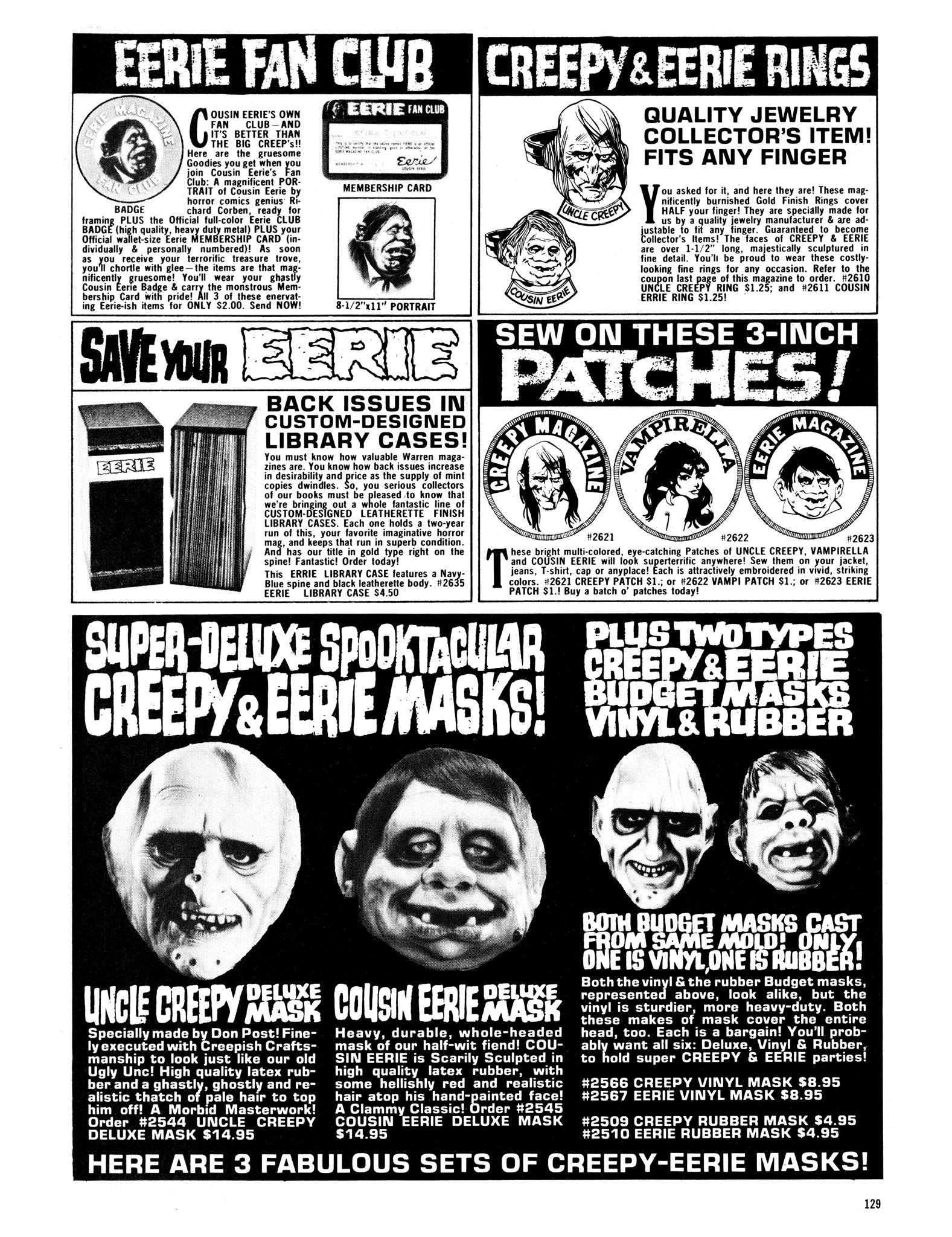 Read online Eerie Archives comic -  Issue # TPB 12 - 130