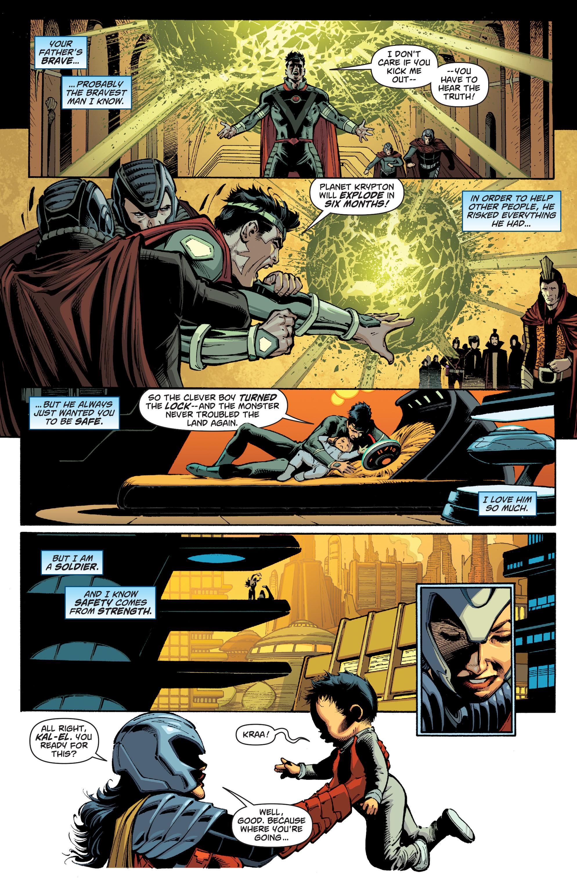 Read online Secret Origins (2014) comic -  Issue #1 - 2