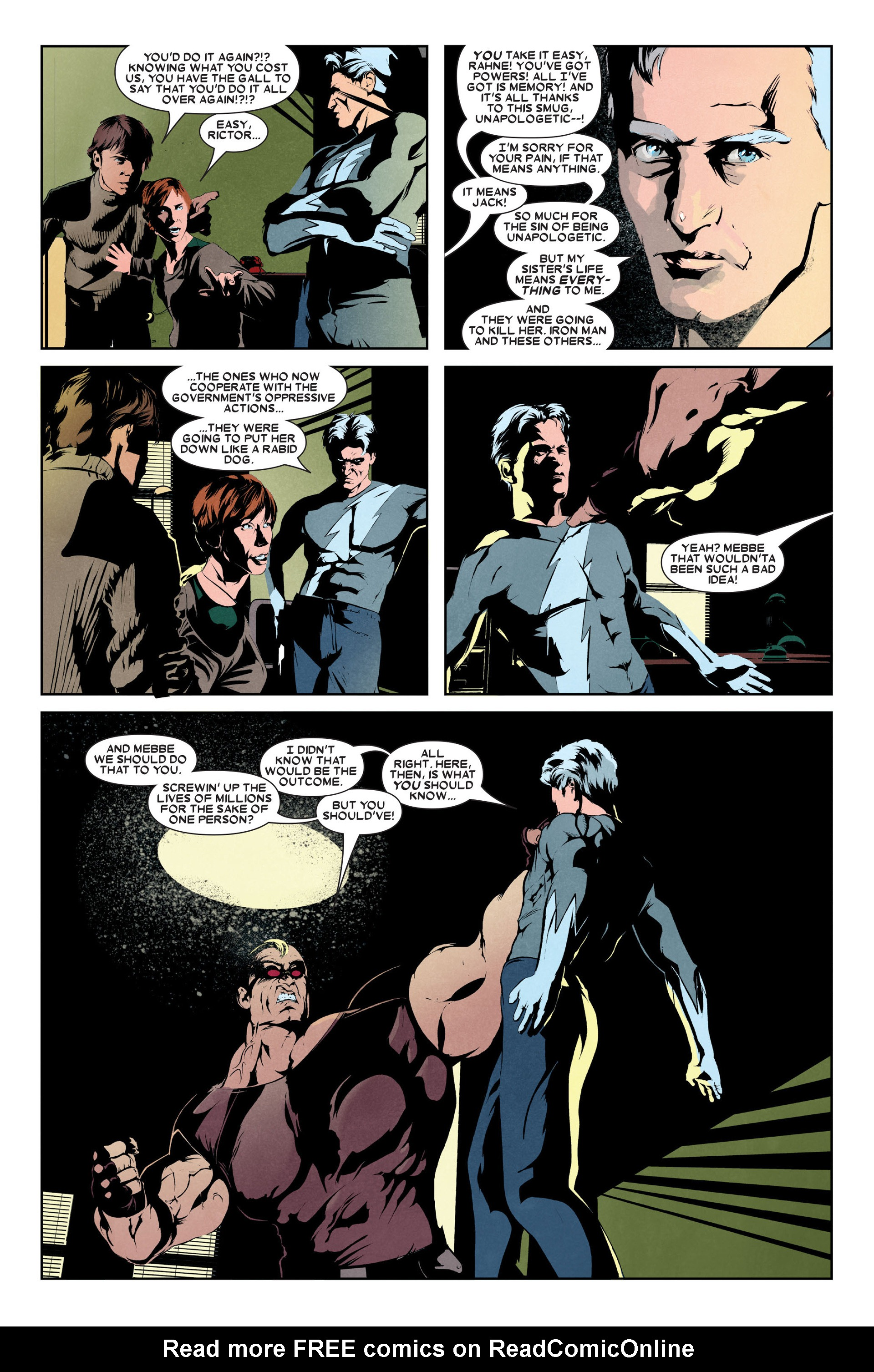 Read online X-Factor (2006) comic -  Issue #9 - 4