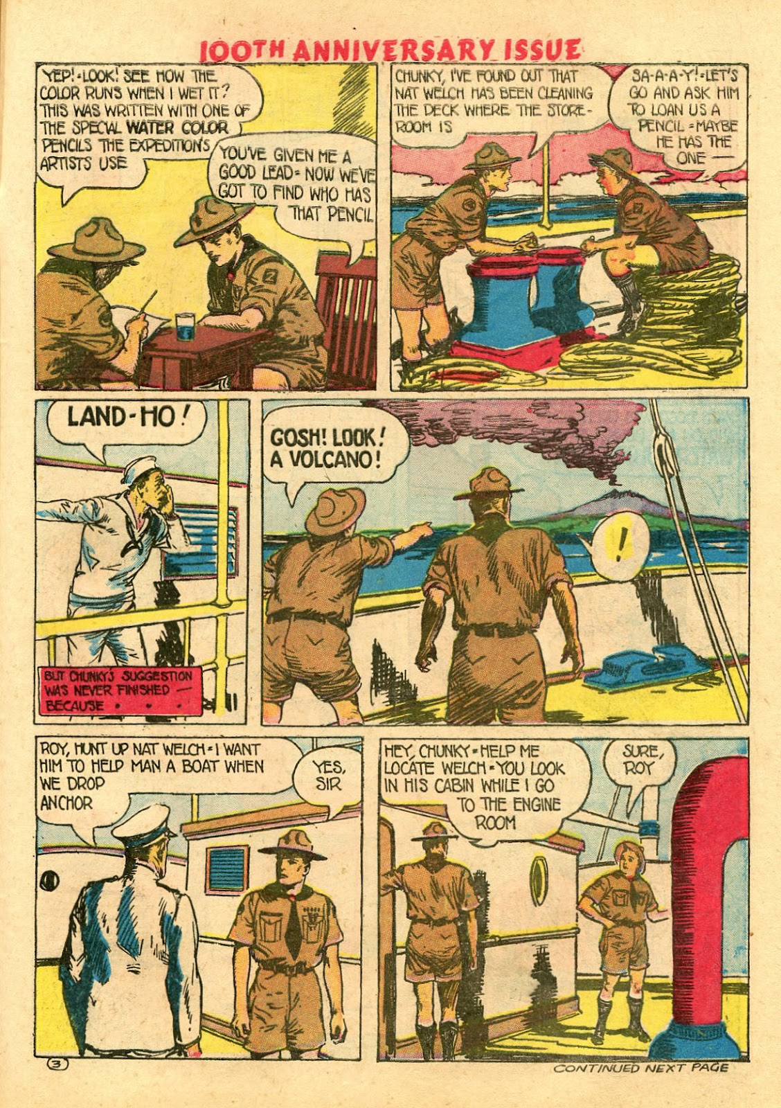 Read online Famous Funnies comic -  Issue #100 - 53