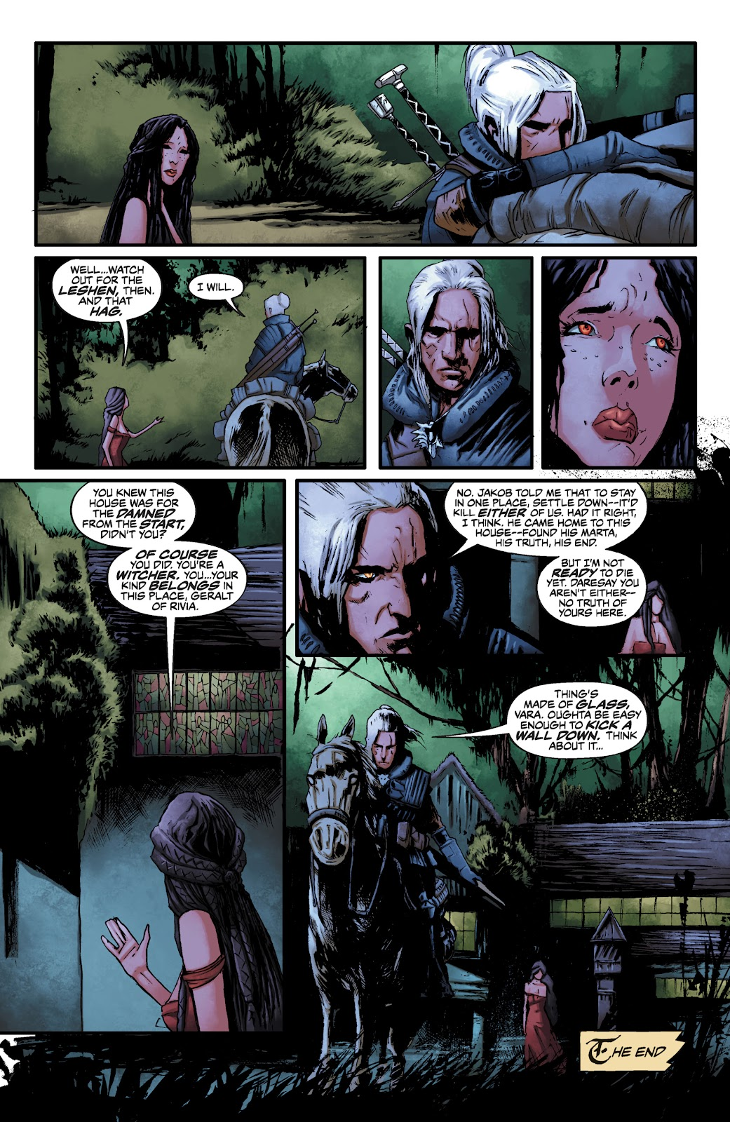 Read online The Witcher Omnibus comic -  Issue # TPB (Part 2) - 27