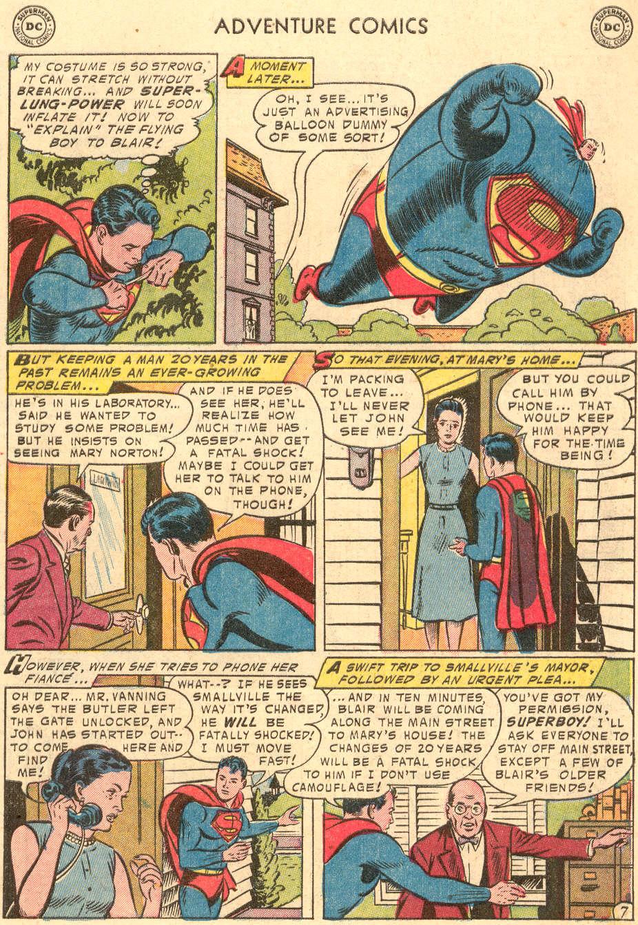 Read online Adventure Comics (1938) comic -  Issue #208 - 9