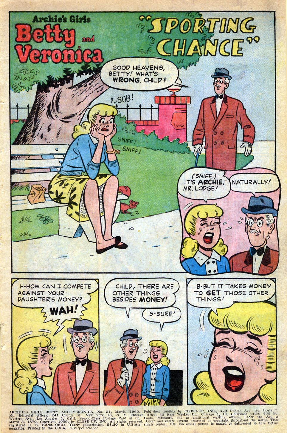 Read online Archie's Girls Betty and Veronica comic -  Issue #51 - 2