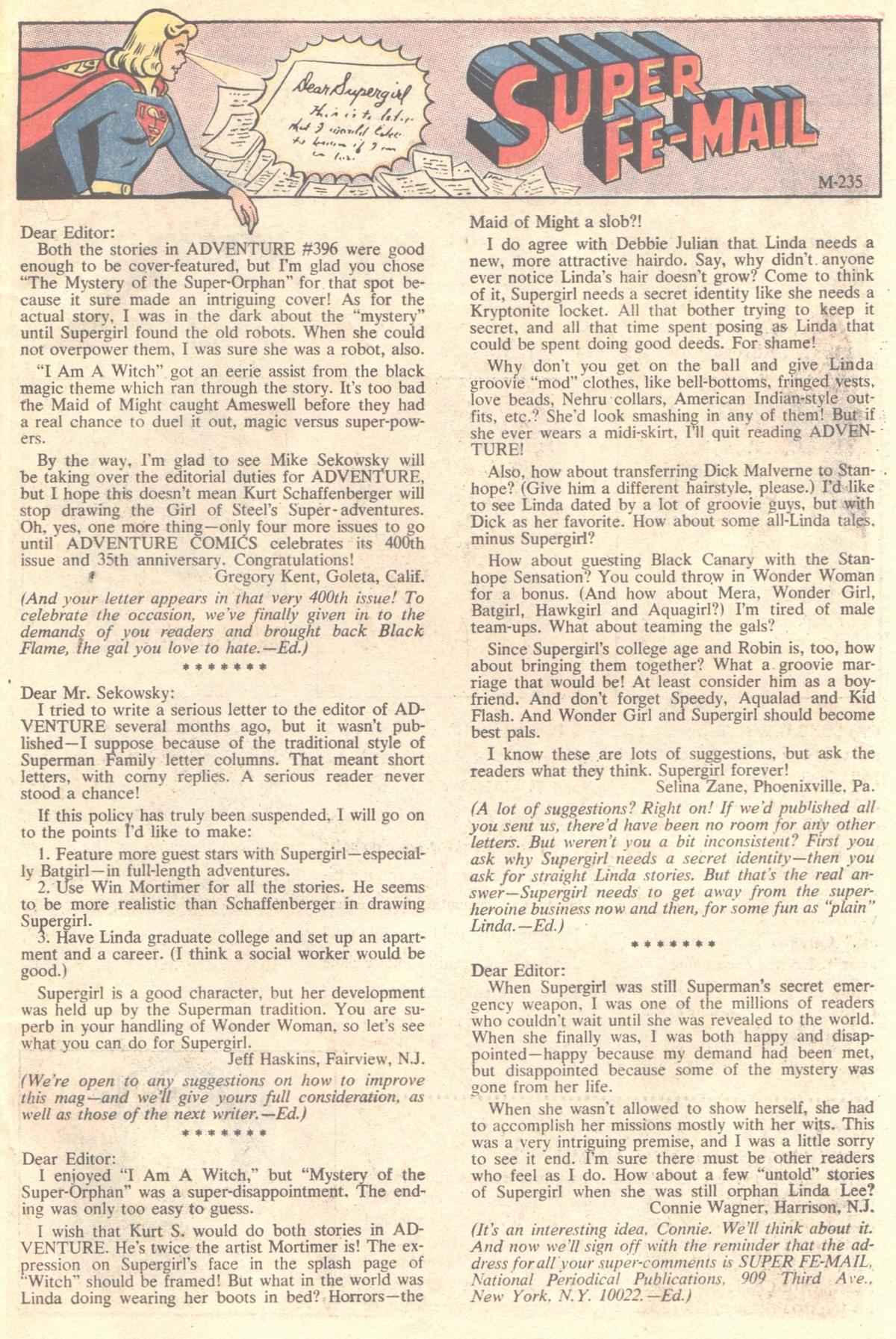 Read online Adventure Comics (1938) comic -  Issue #400 - 33