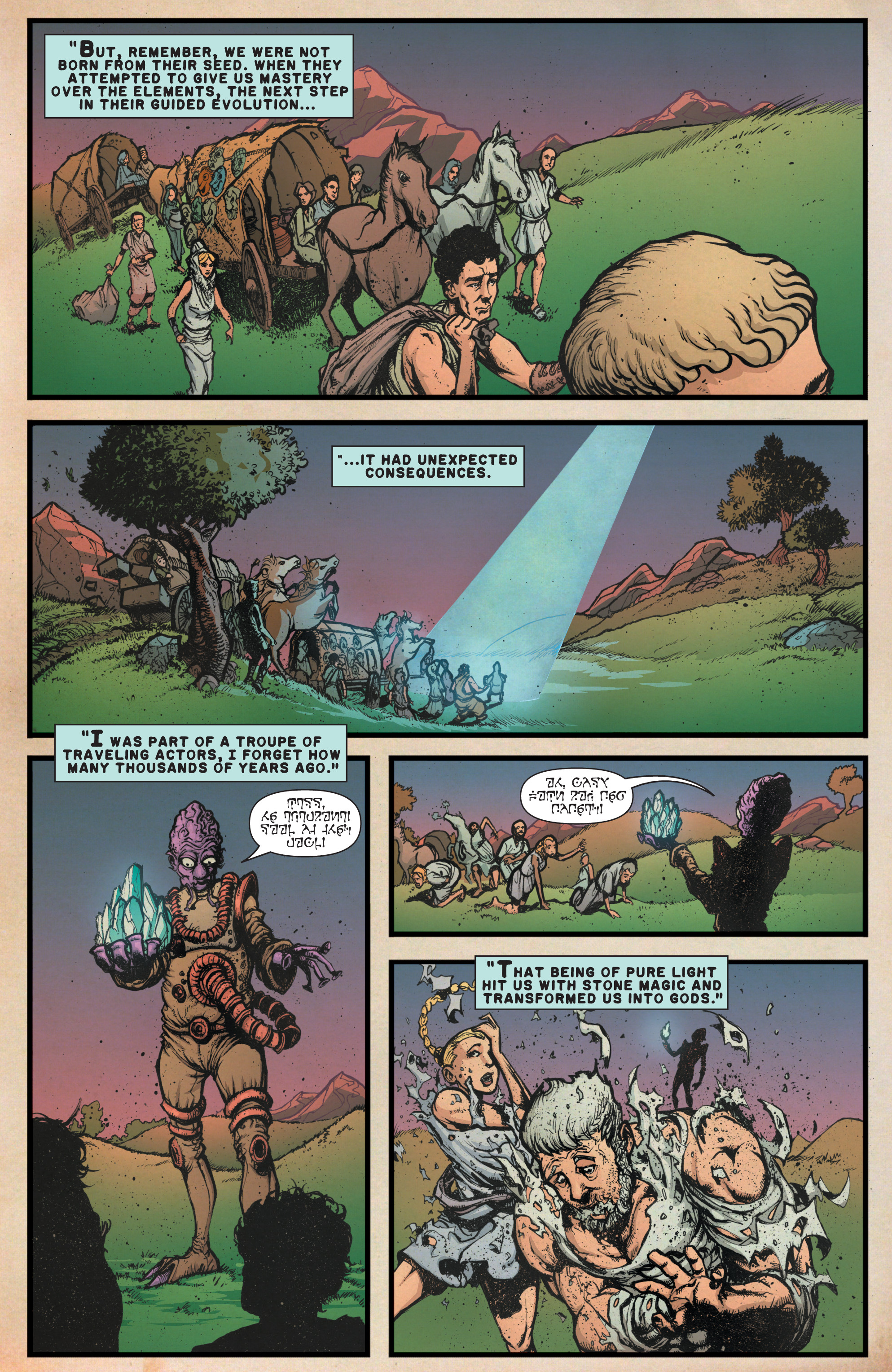 Read online A&A: The Adventures of Archer & Armstrong comic -  Issue #9 - 5