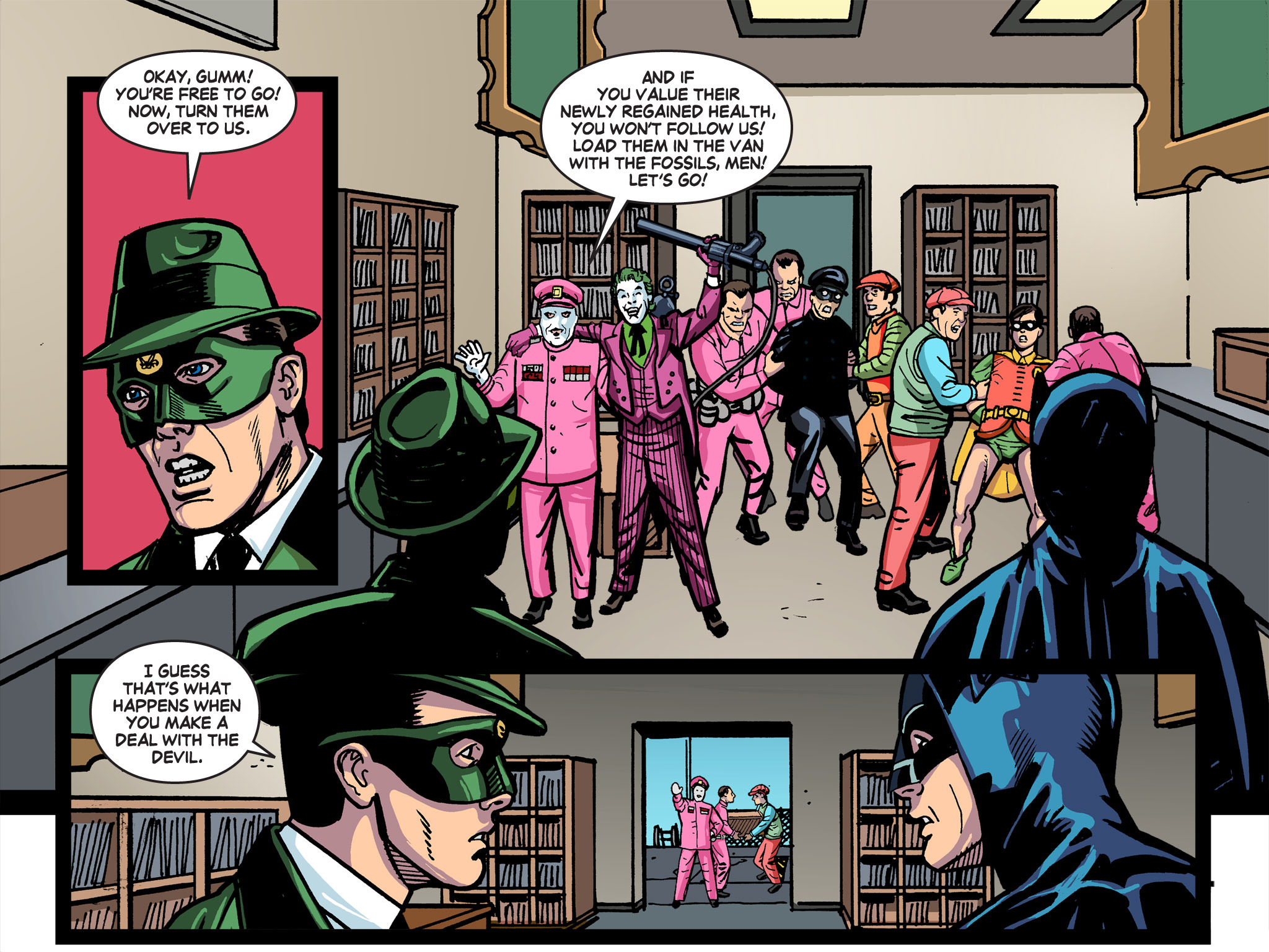 Read online Batman '66 Meets the Green Hornet [II] comic -  Issue #5 - 23