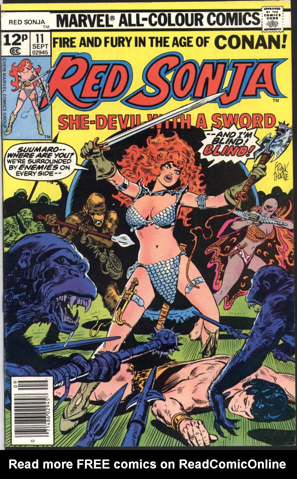 Red Sonja (1977) issue 11 - Page 1