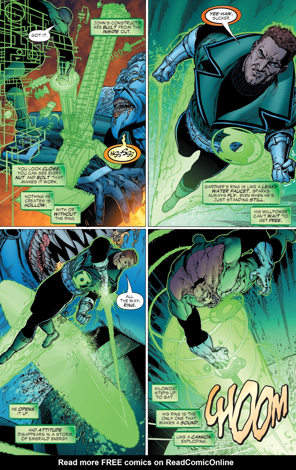 Read online Green Lantern by Geoff Johns comic -  Issue # TPB 1 (Part 2) - 39