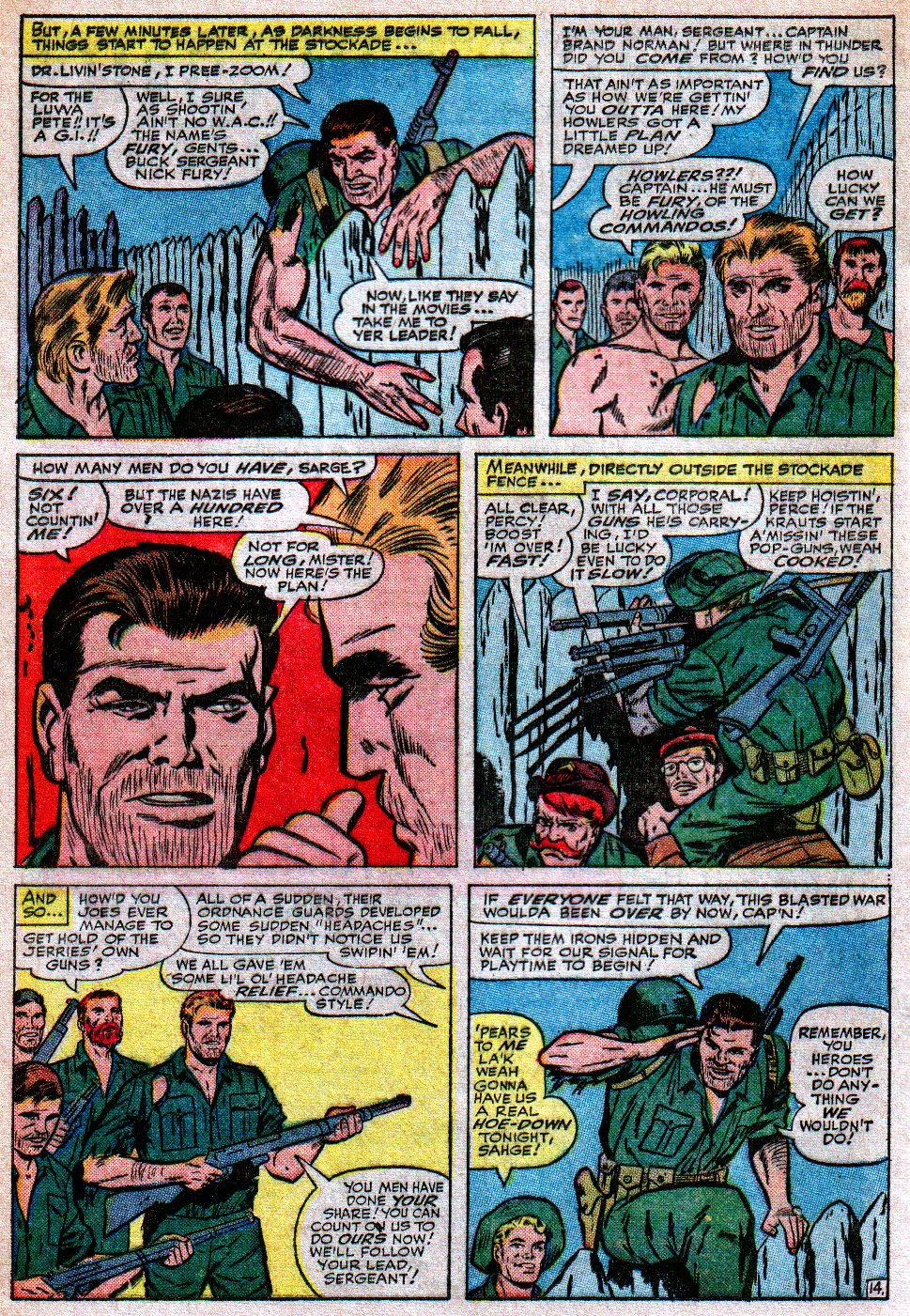Read online Sgt. Fury comic -  Issue #17 - 20