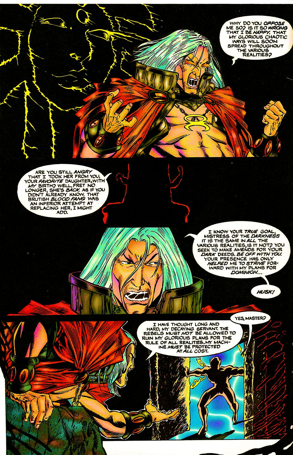 Read online Chains of Chaos comic -  Issue #3 - 6