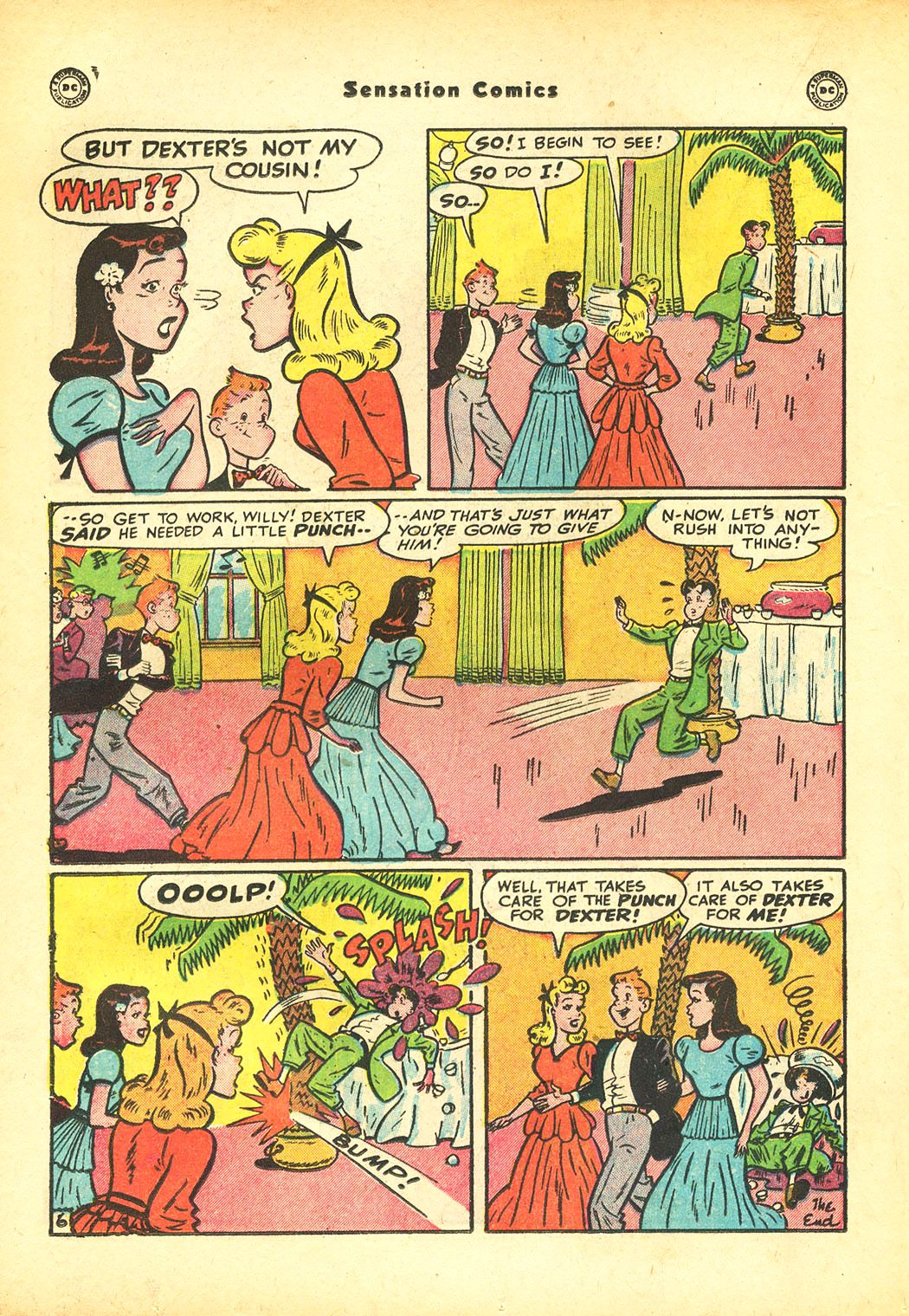 Read online Sensation (Mystery) Comics comic -  Issue #86 - 30