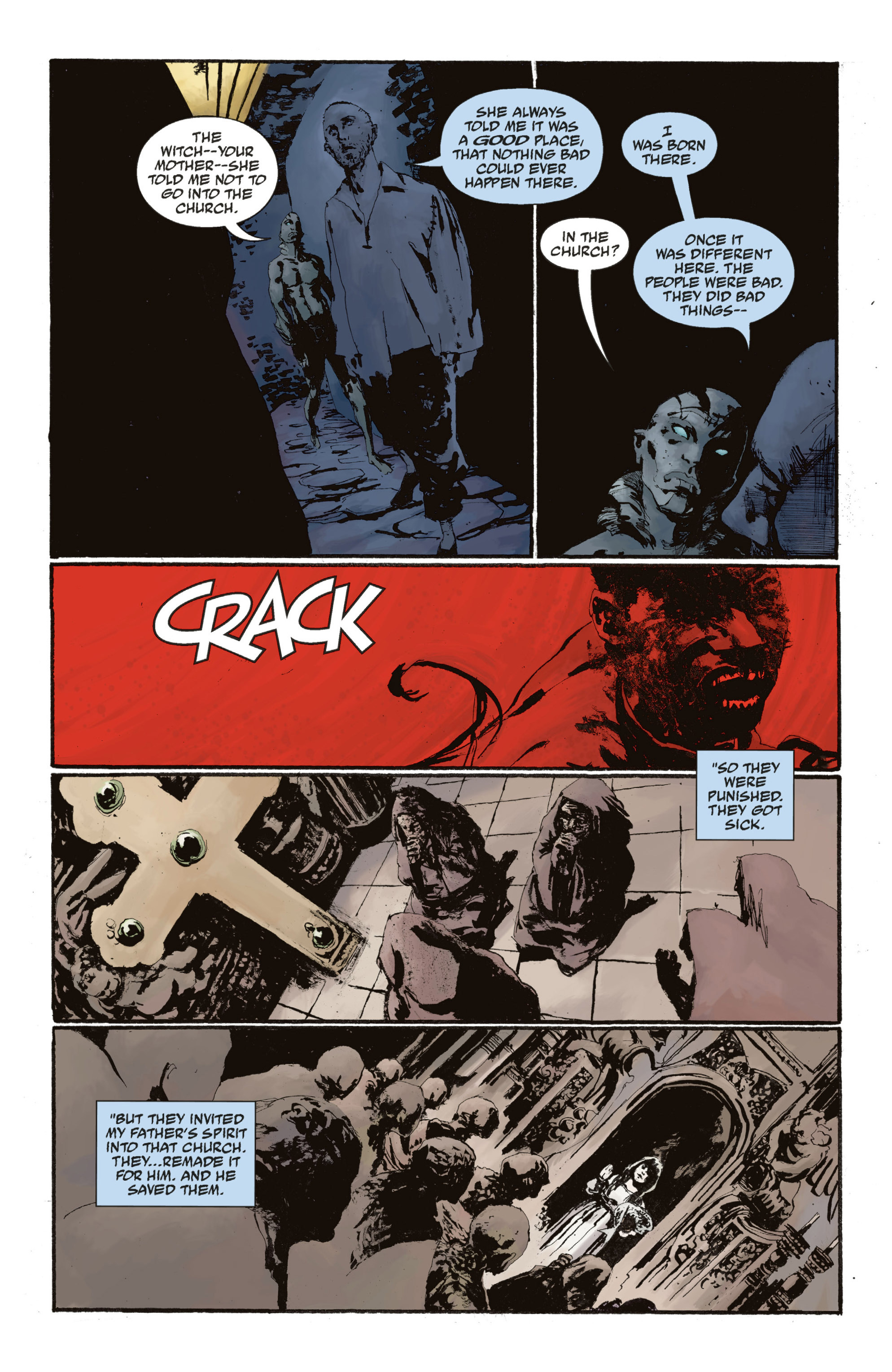 Read online Abe Sapien: The Drowning comic -  Issue #Abe Sapien: The Drowning _TPB - 114