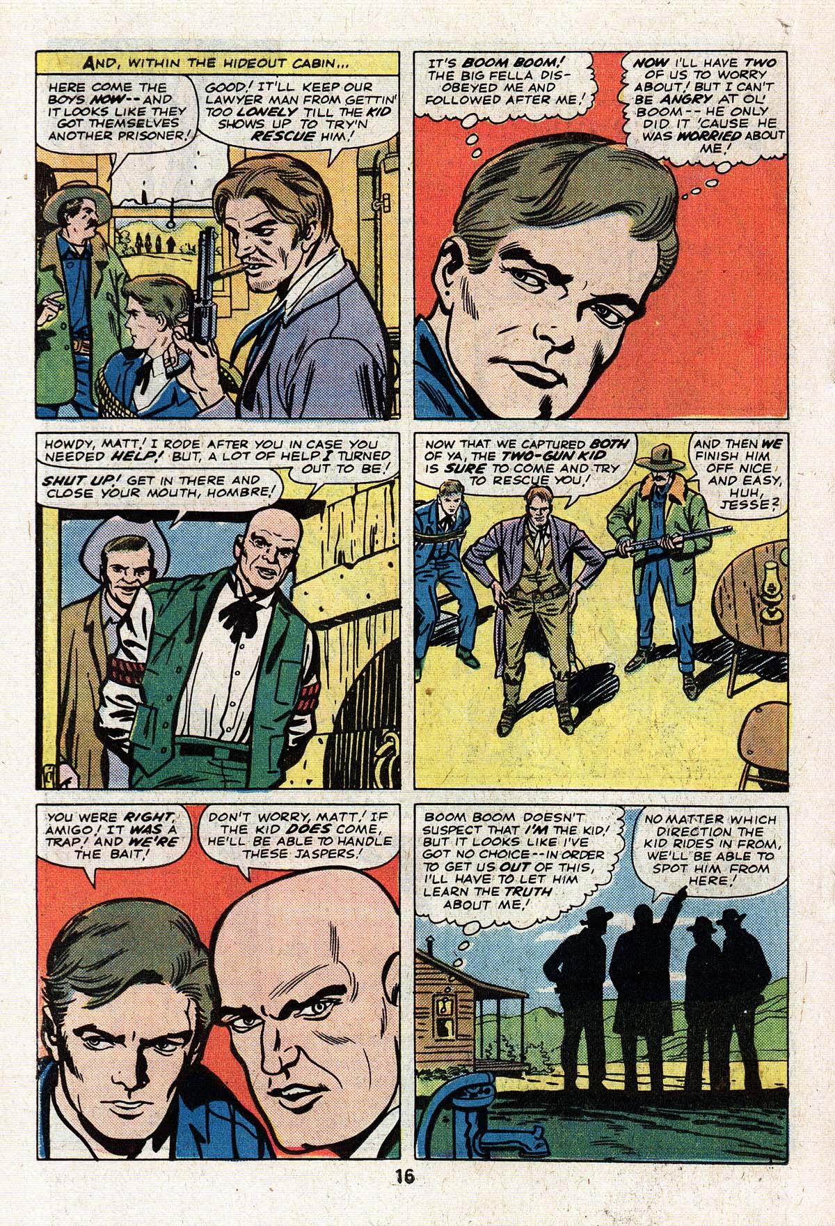 Read online Two-Gun Kid comic -  Issue #125 - 18