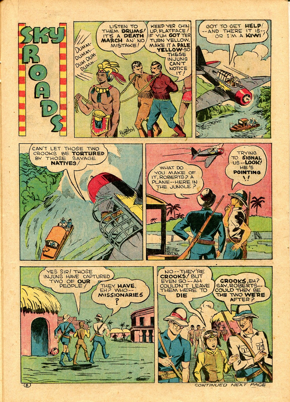 Read online Famous Funnies comic -  Issue #101 - 47
