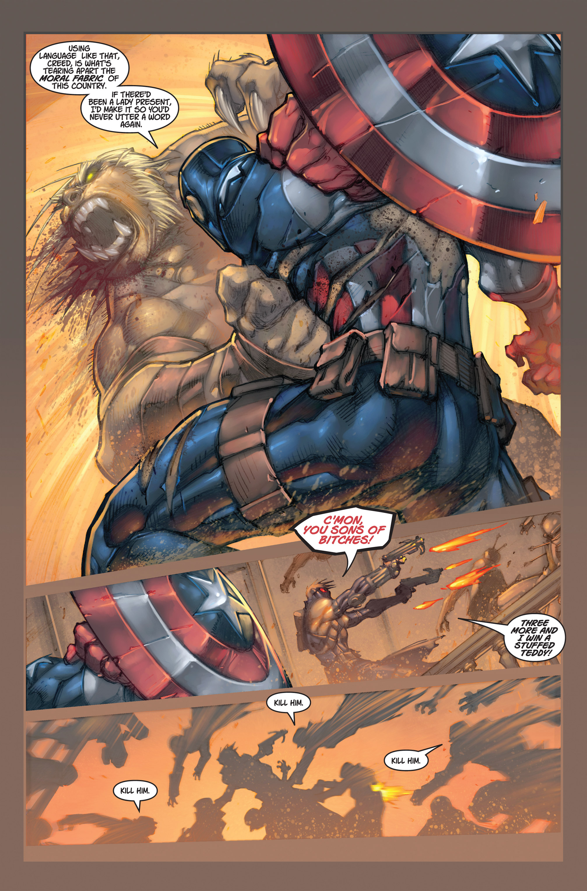 Read online Ultimates 3 comic -  Issue #2 - 20