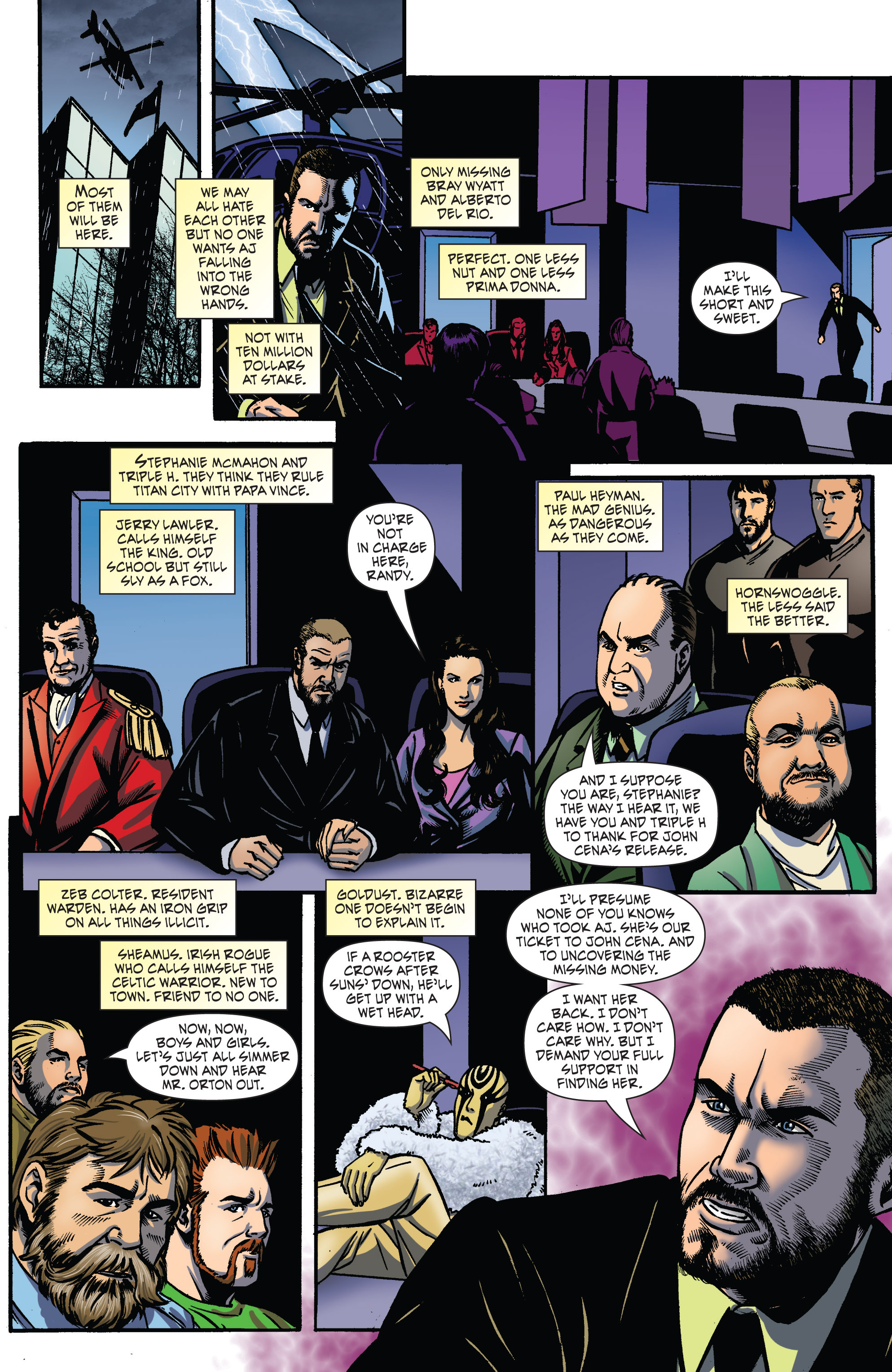 Read online WWE Superstars comic -  Issue #2 - 15